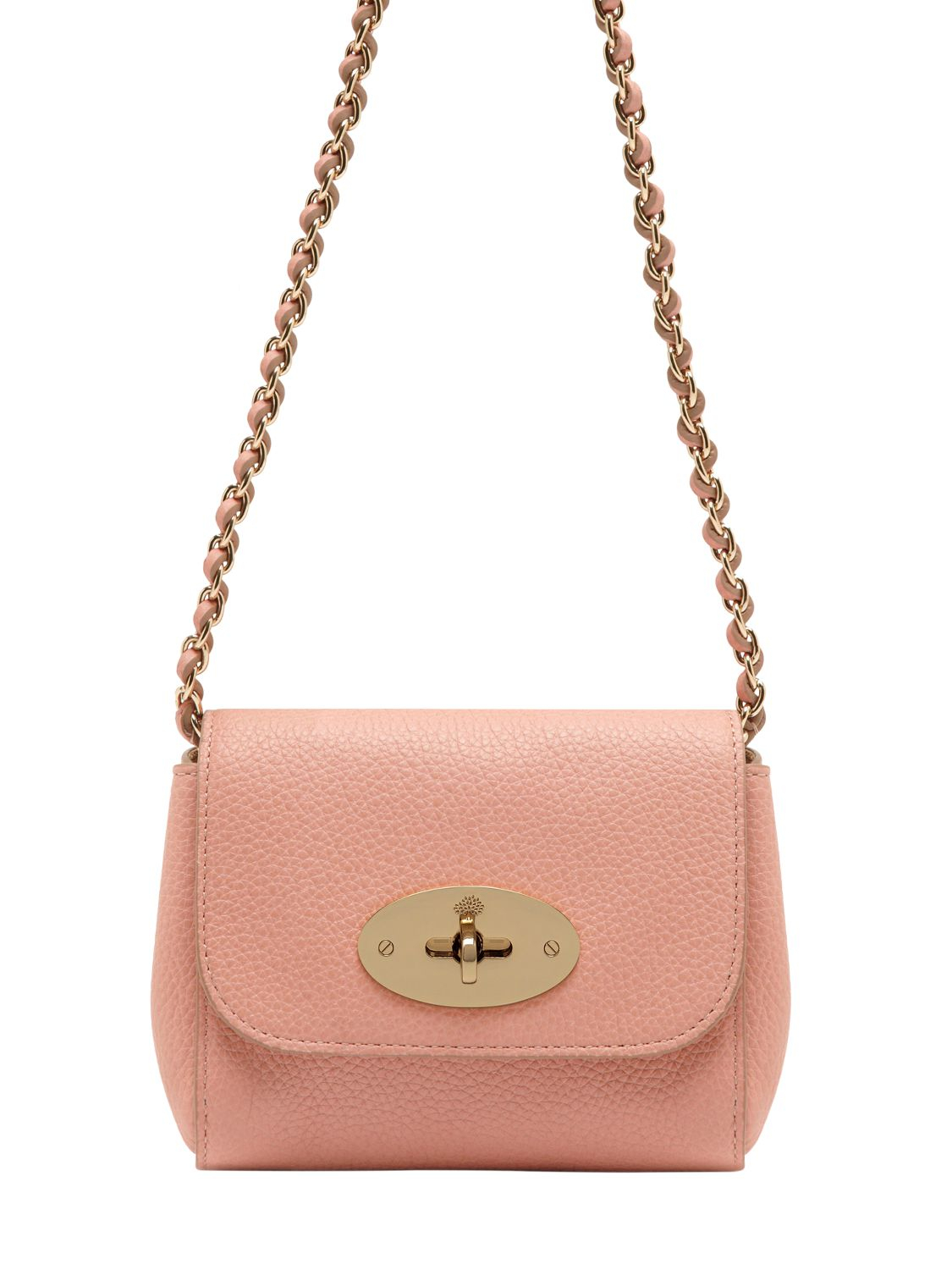 Mulberry Mini Lily Shoulder Bag in Natural