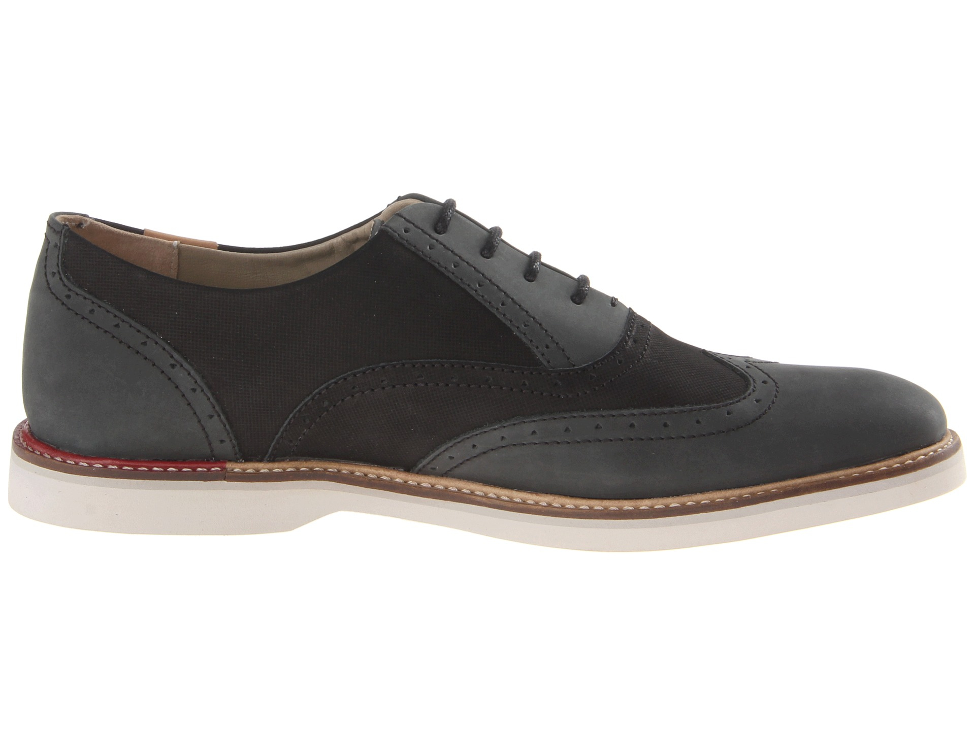 5c63a87c7aea86 Lyst - Lacoste Sherbrooke Brogue 2 in Black for Men