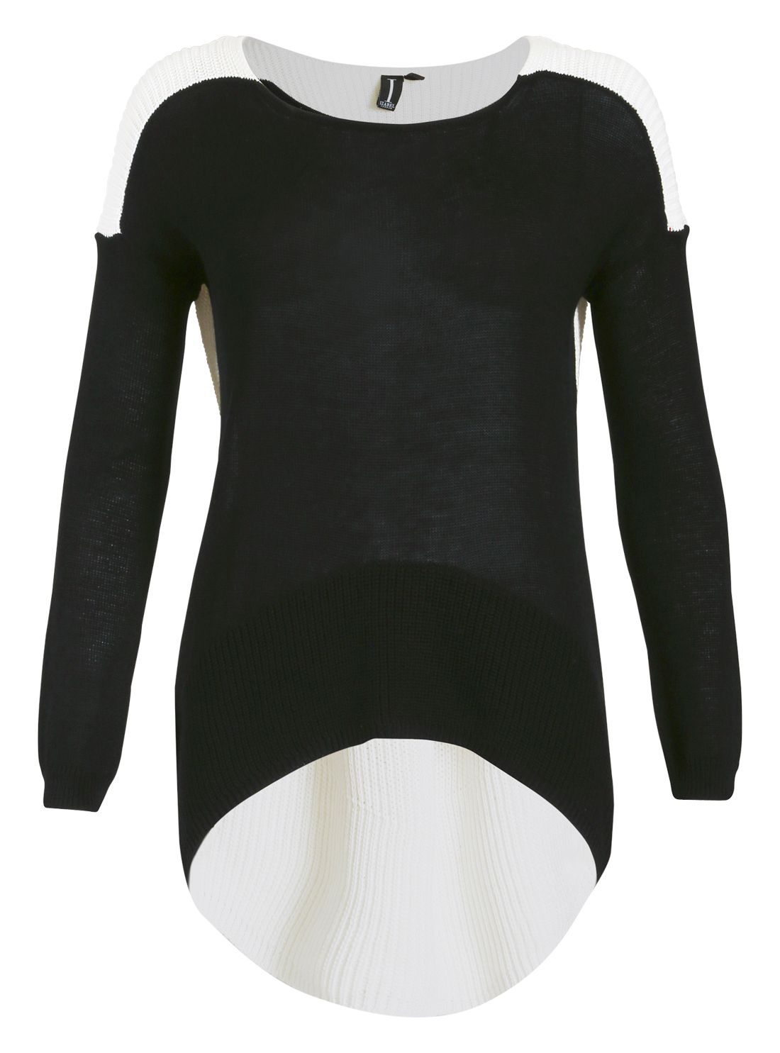 Lyst - Izabel London Oversized Casual Top in Black
