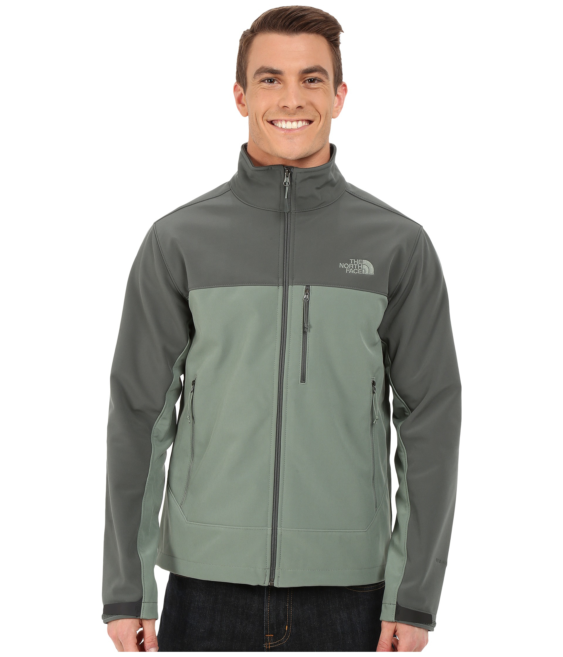 ced4c7f1ebc ... wholesale lyst the north face apex bionic jacket in green for men 244a9  3b6ae