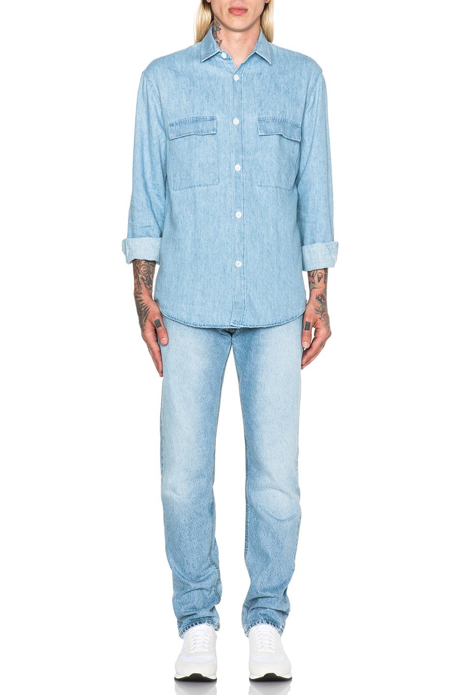 denim shirt pockets - photo #11