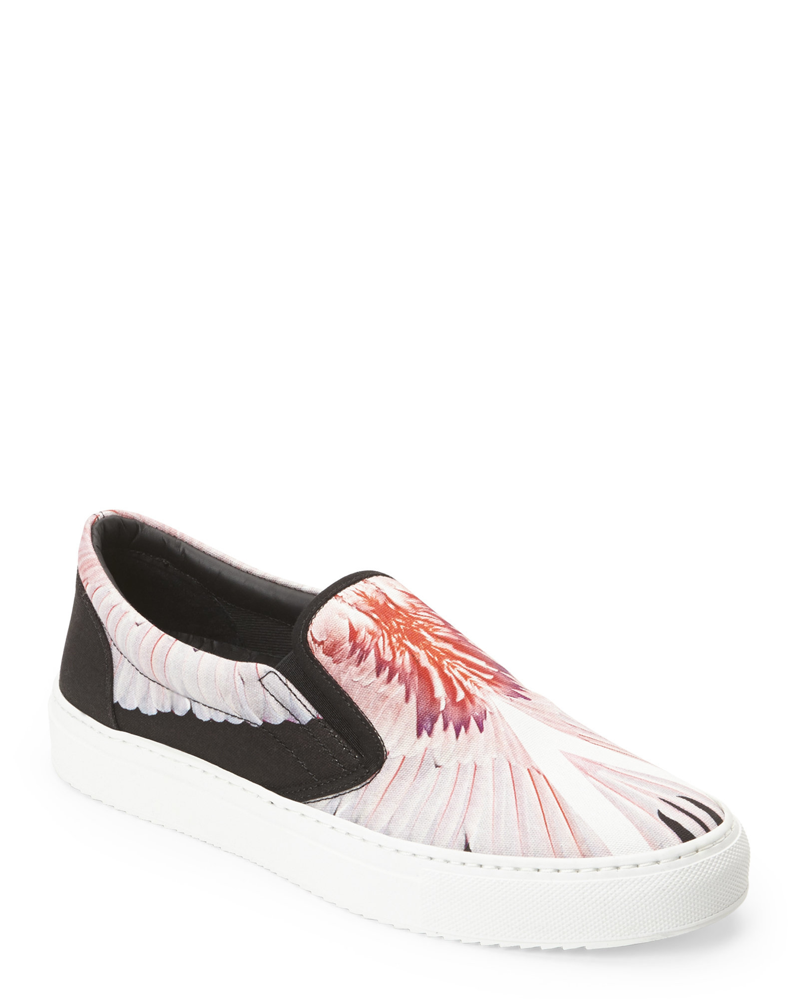 feather print slip-on sneakers - Black Marcelo Burlon Free Shipping Affordable Wiki Sale Online Brand New Unisex Cheap Online Purchase Cheap Online I8xF91tJG