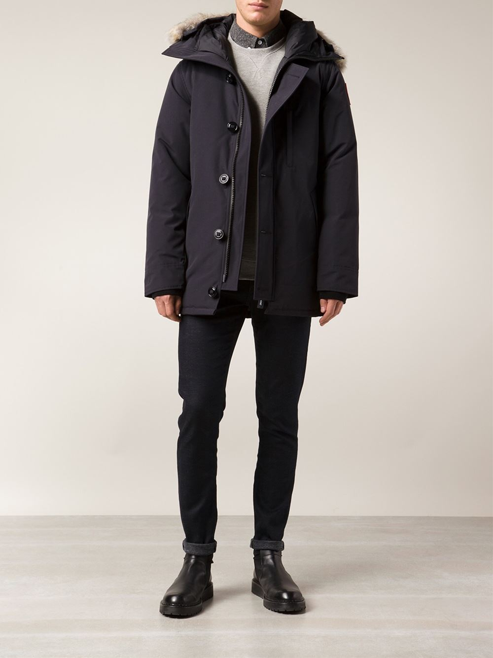 Canada Goose expedition parka outlet fake - Canada goose Chateau Parka in Blue for Men | Lyst