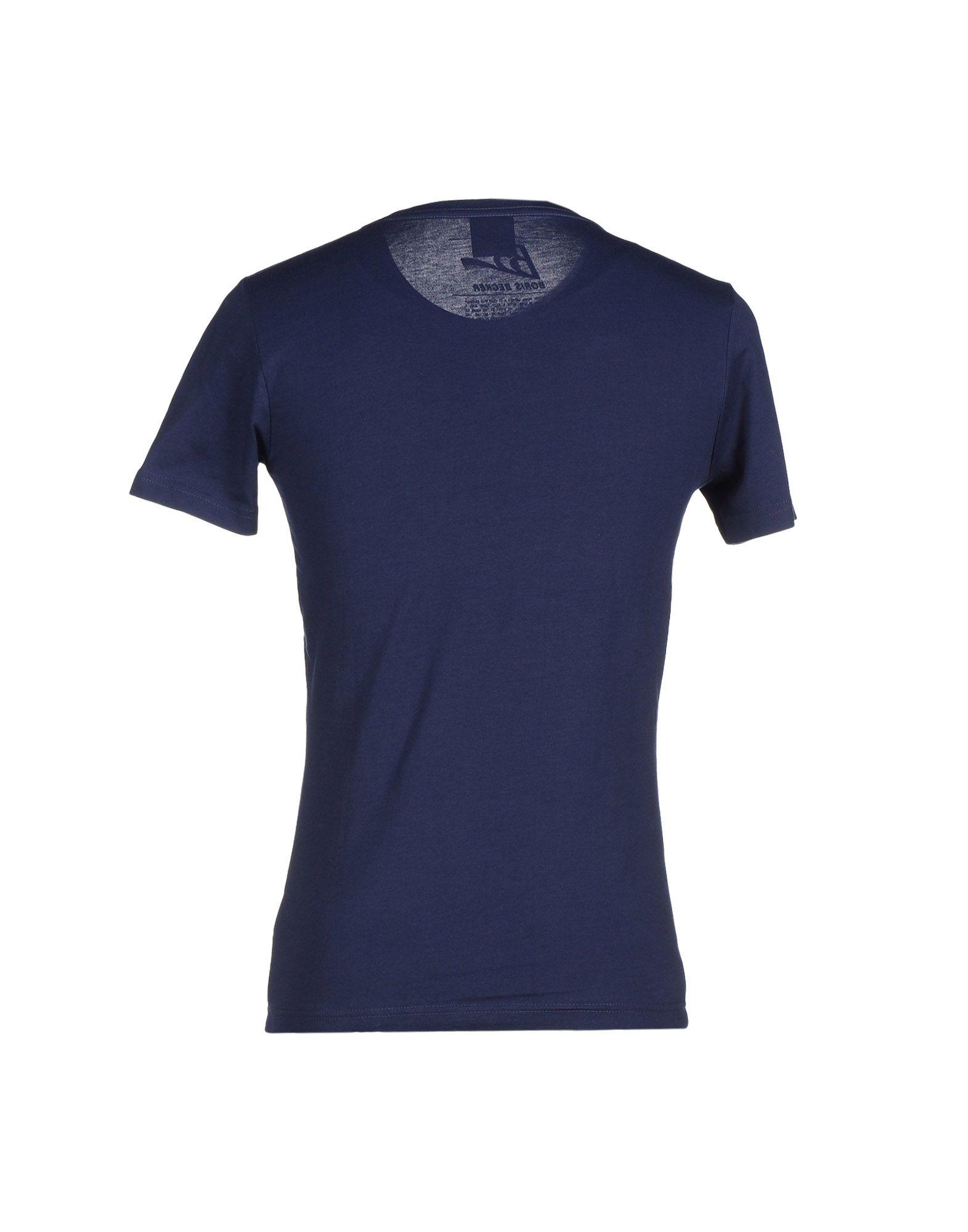puma tshirt in blue for men lyst
