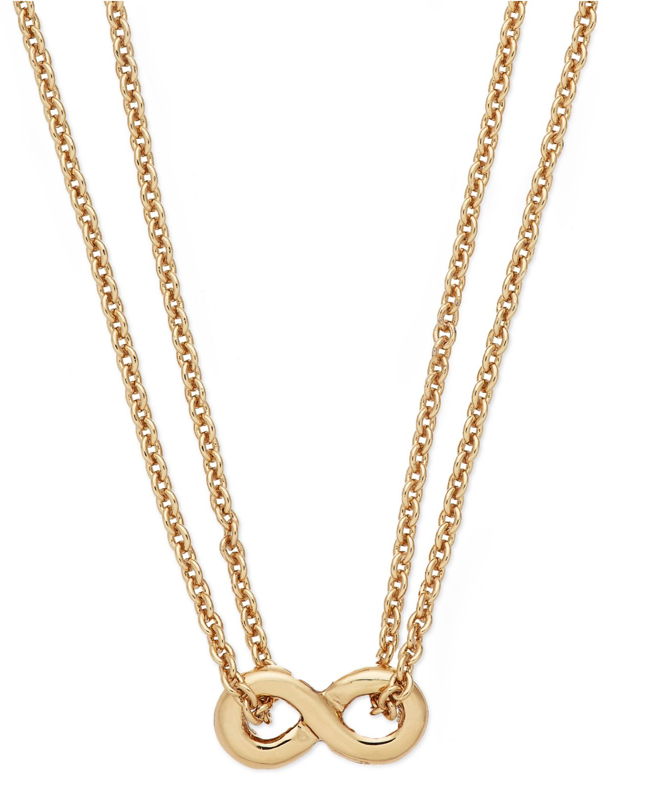 Kate spade new york New York Gold tone Mini Infinity Pendant
