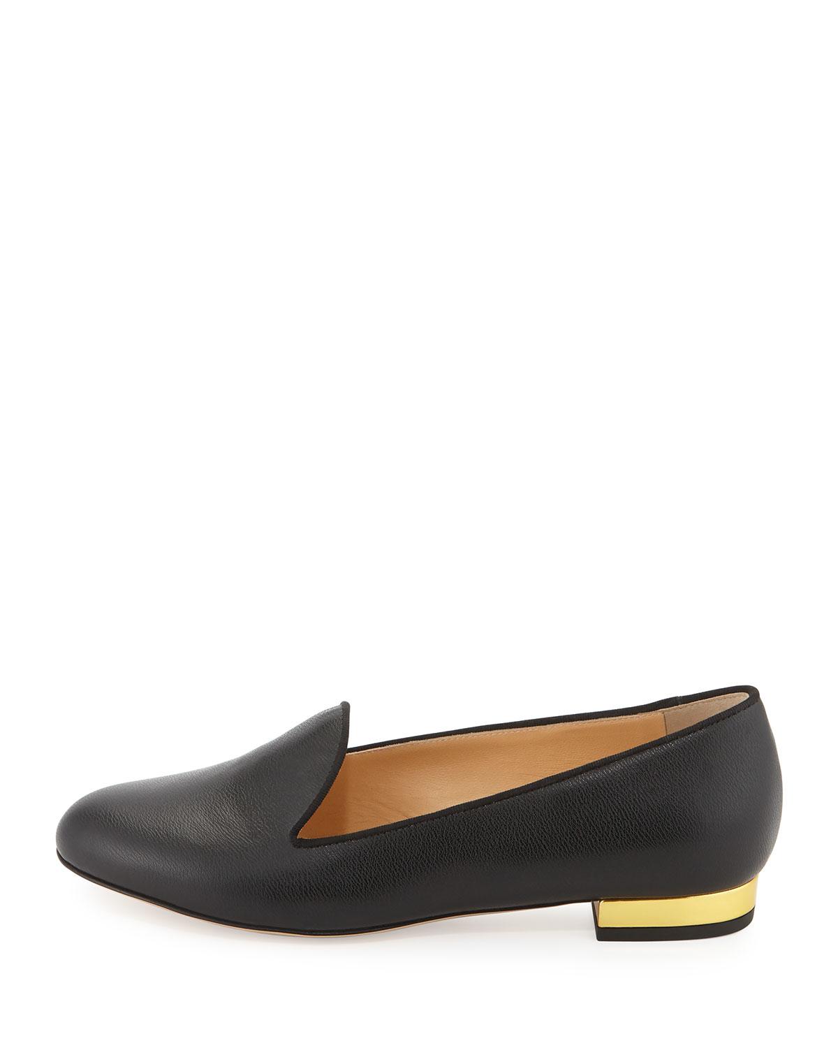 embellished leopard loafers - Black Charlotte Olympia sAmmeA0sq