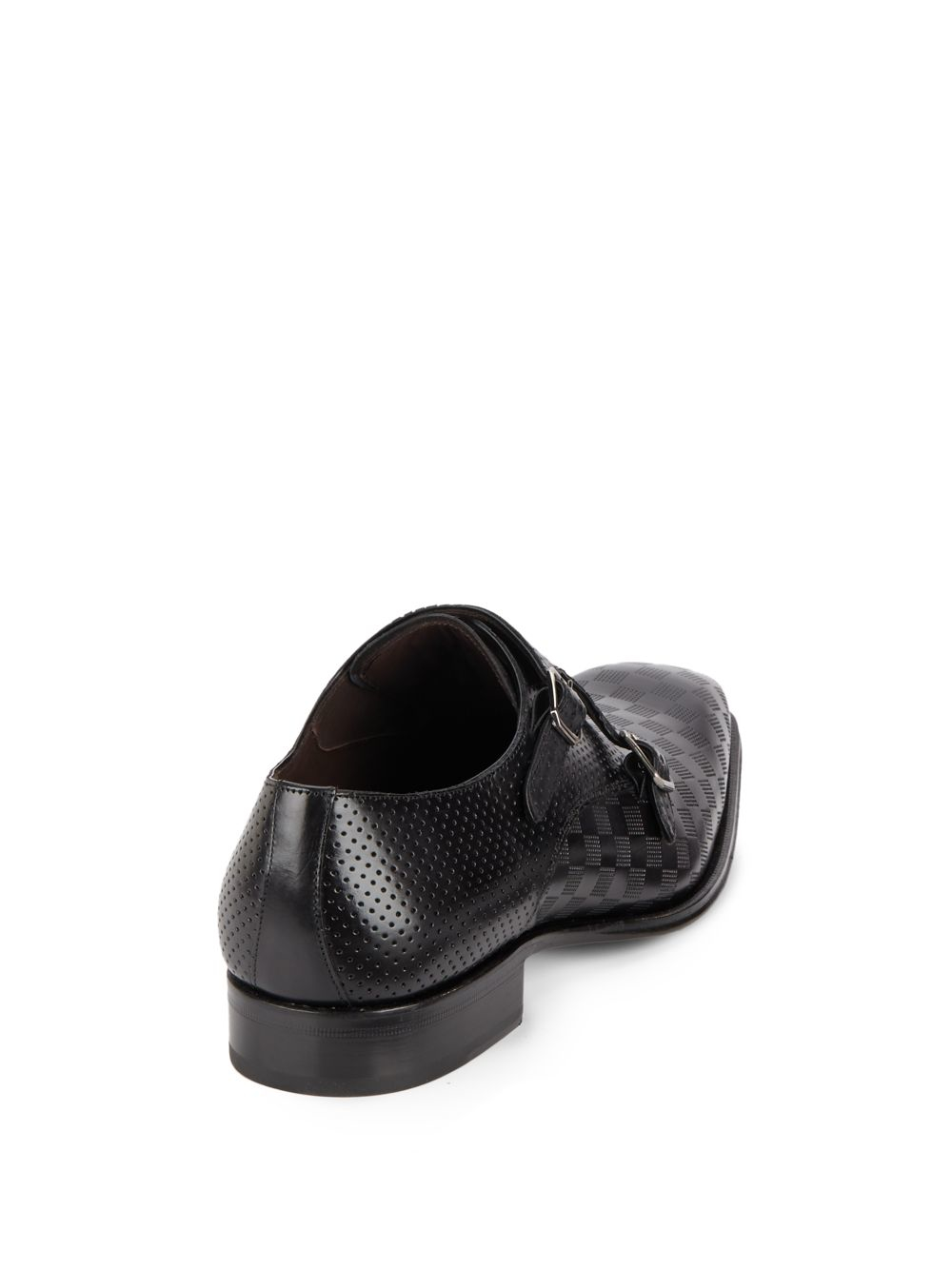 Saks Tommy Perforated Leather Derby Shoes