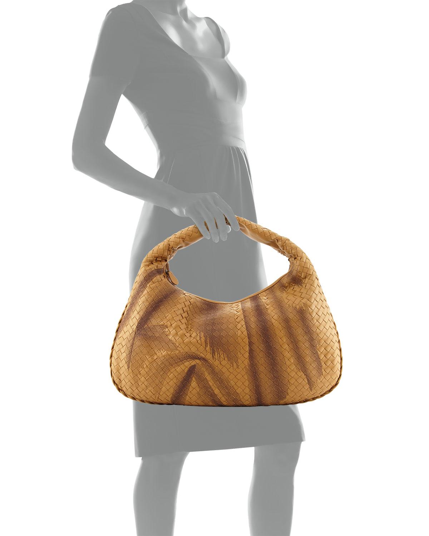 572b171c8ec Lyst - Bottega Veneta Veneta Intrecciato Large Shadow Hobo Bag in ...