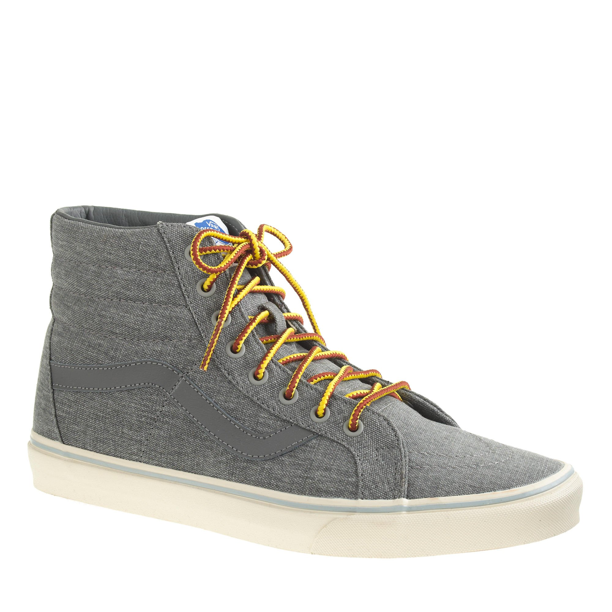 27fad0b9880b96 Lyst - J.Crew Men s Vans Sk8-hi Reissue Sneakers in Gray for Men