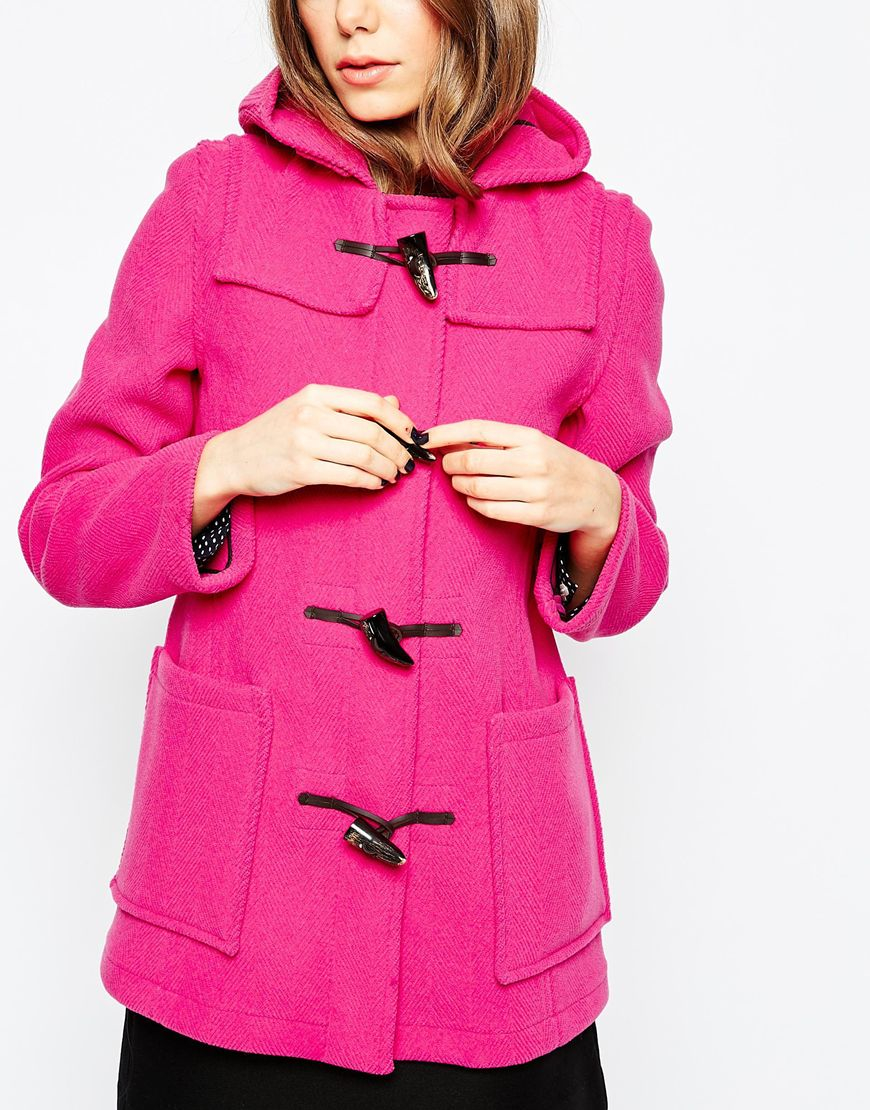 Fuschia Pink Coat