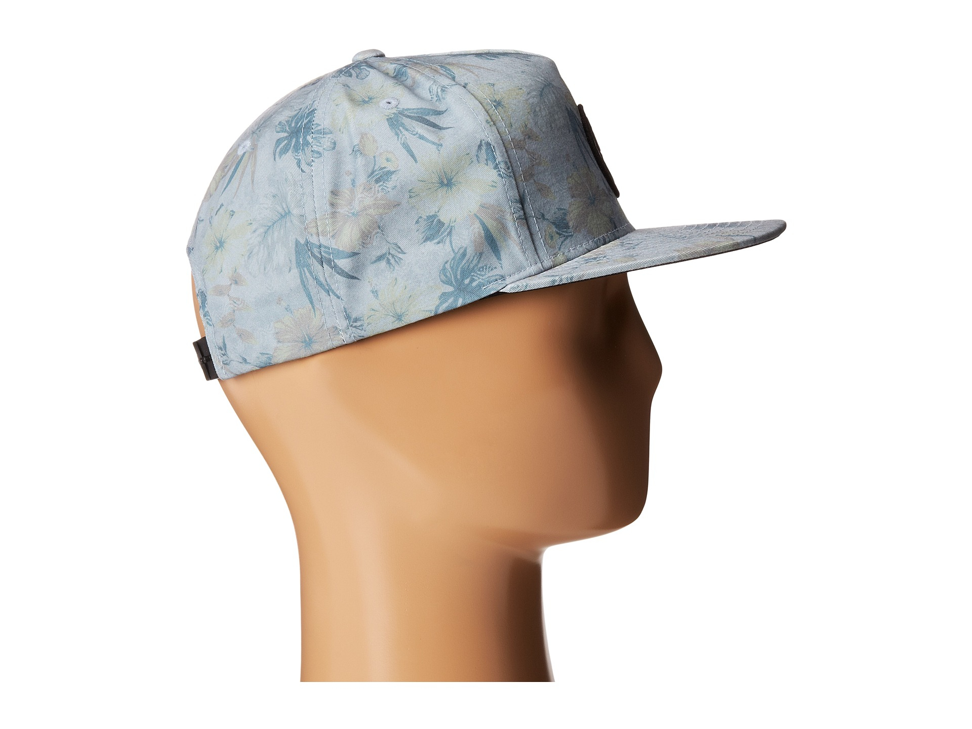 4a93687807c ... shopping lyst billabong spinner floral hat in gray for men 8c333 8708e