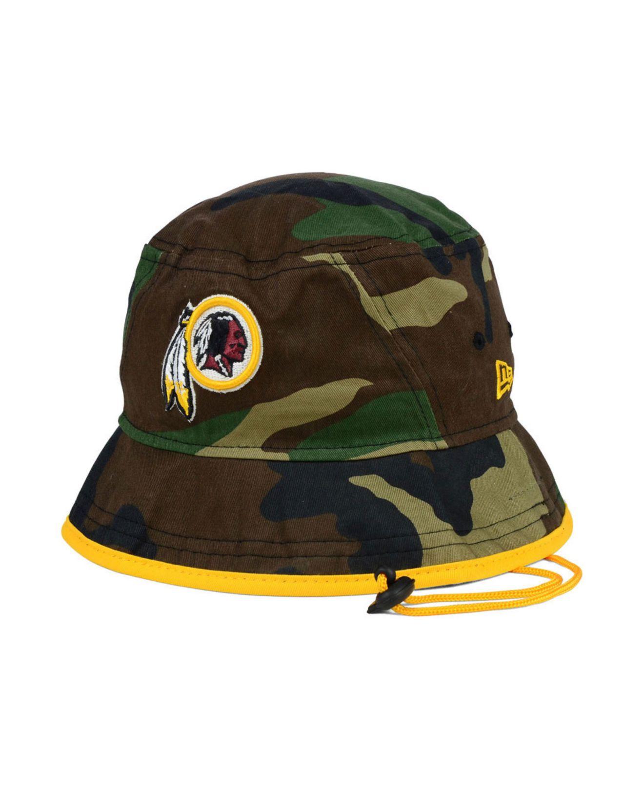 Lyst - Ktz Washington Redskins Nfl Camo Pop Bucket in Green for Men a5e53a18d37