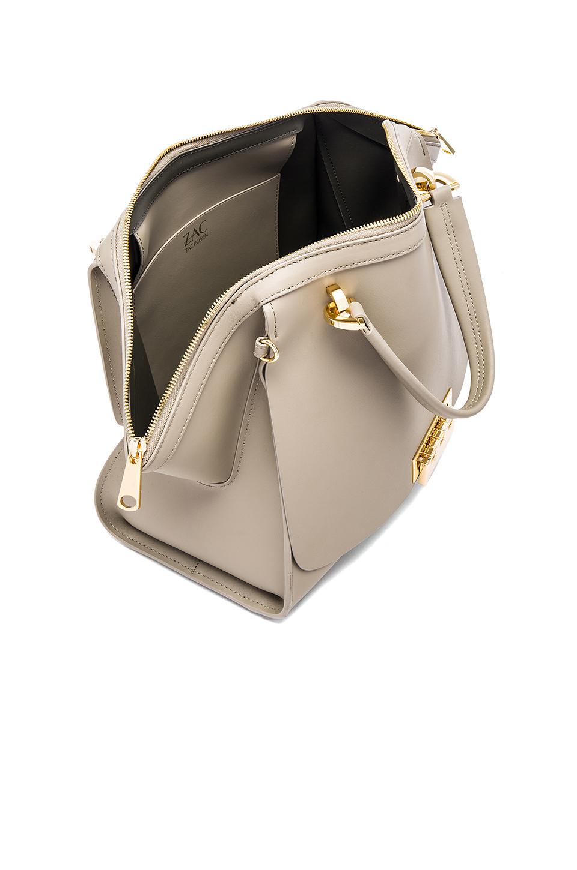 Lyst Zac Zac Posen Eartha Iconic Jumbo Double Handle Bag