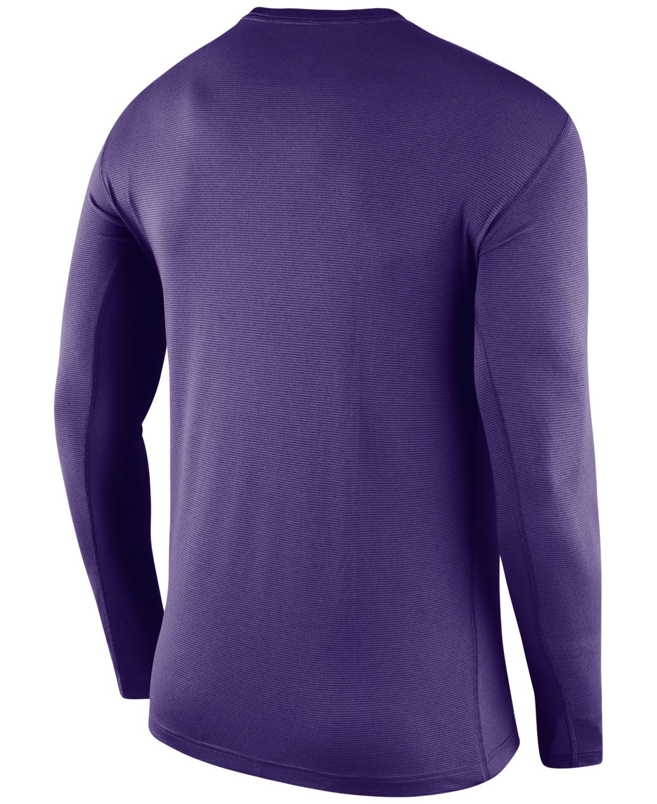 Nike Men's Long-sleeve Minnesota Vikings Dri-fit Touch T-shirt in ...