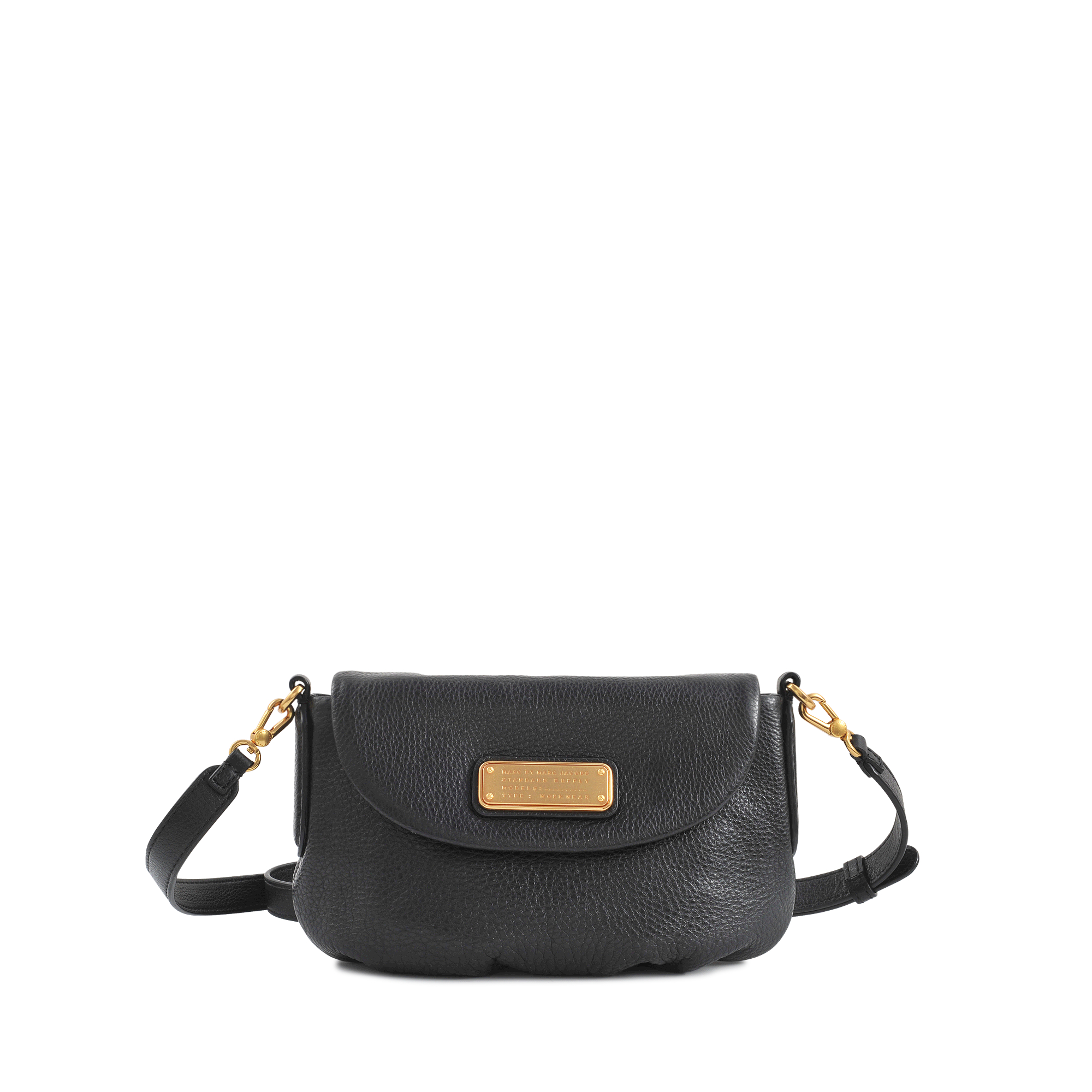 4547e28d79edc Marc By Marc Jacobs Small Percy New Q Flap Bag in Black - Lyst