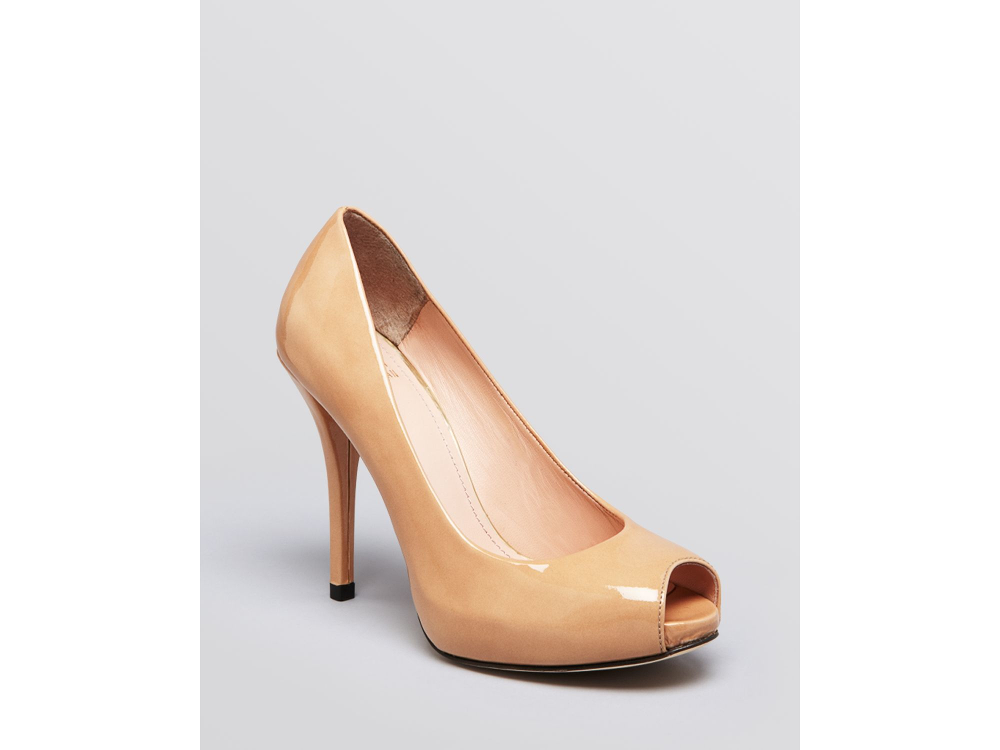 outlet genuine outlet official site Stuart Weitzman Metallic Peep-Toe Platform Pumps wiki online best for sale b9U6ubUI
