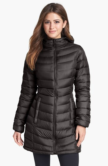 The North Face Jenae Hooded Down Jacket In Black Lyst