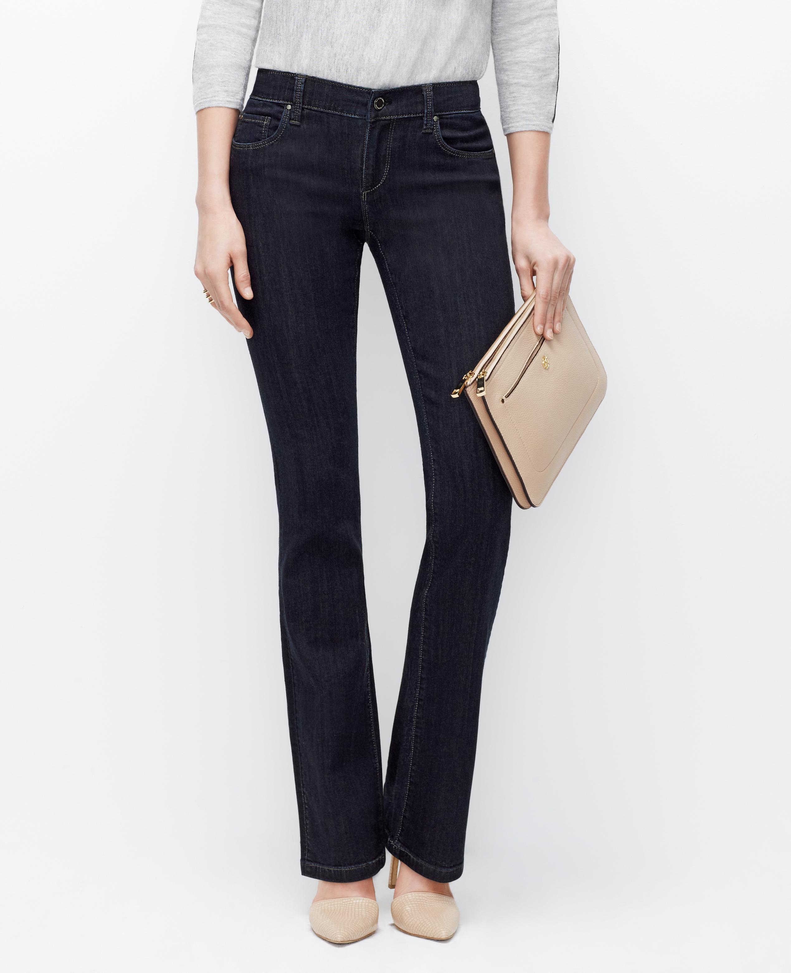 Modern baby bootleg jeans