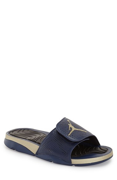 uk availability 0279c 0c2ed Nike  jordan Hydro 5  Sandal in Blue - Lyst