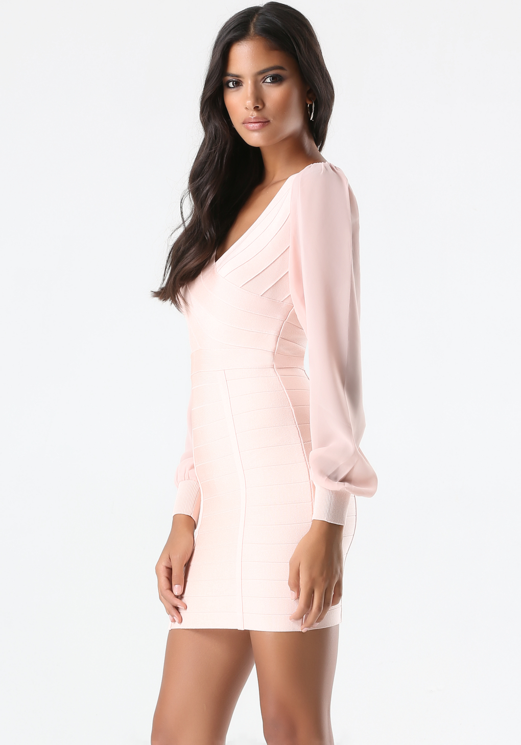 River Island Pink Bandage Dress