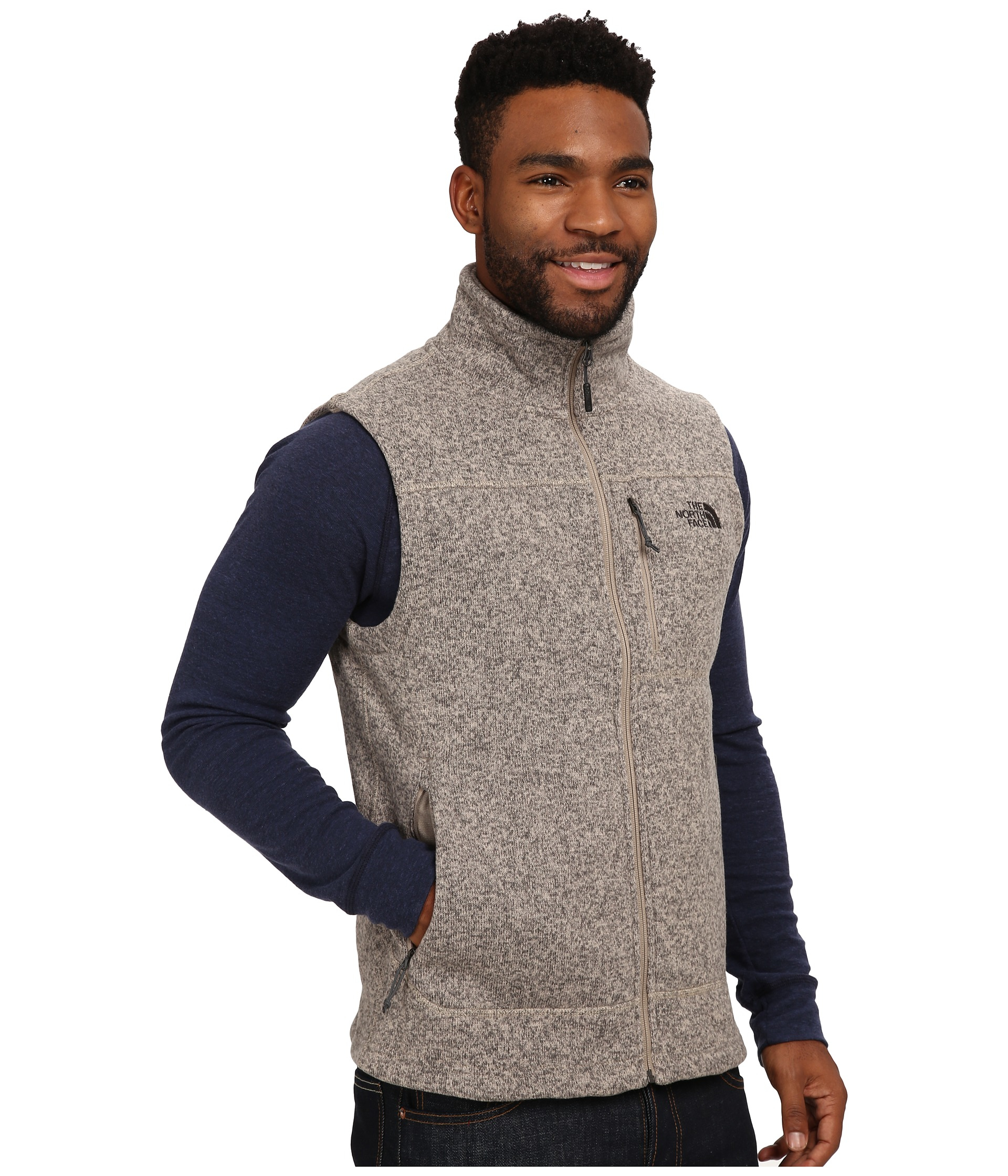 7ca3c63953e5 Lyst - The North Face Gordon Lyons Vest in Natural for Men