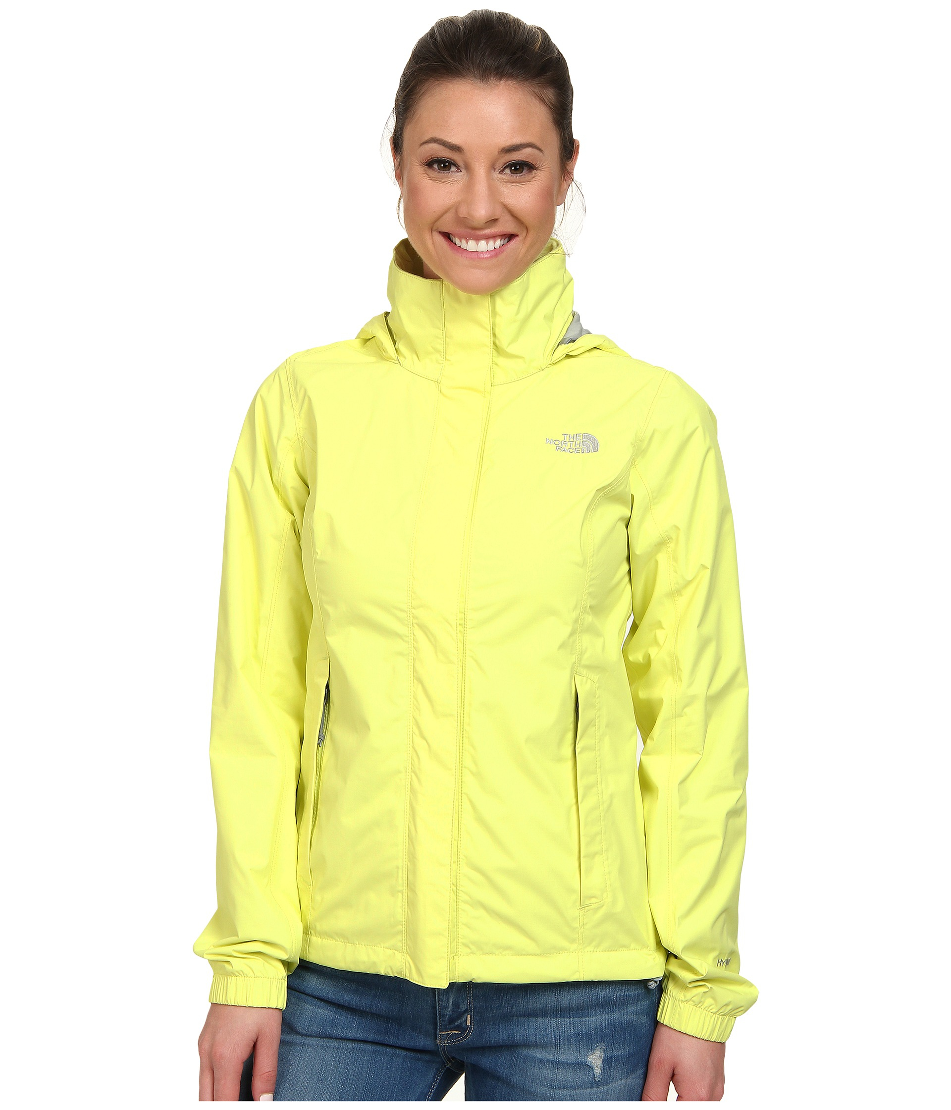 82a42e07e84b Lyst - The North Face Resolve Jacket in Yellow
