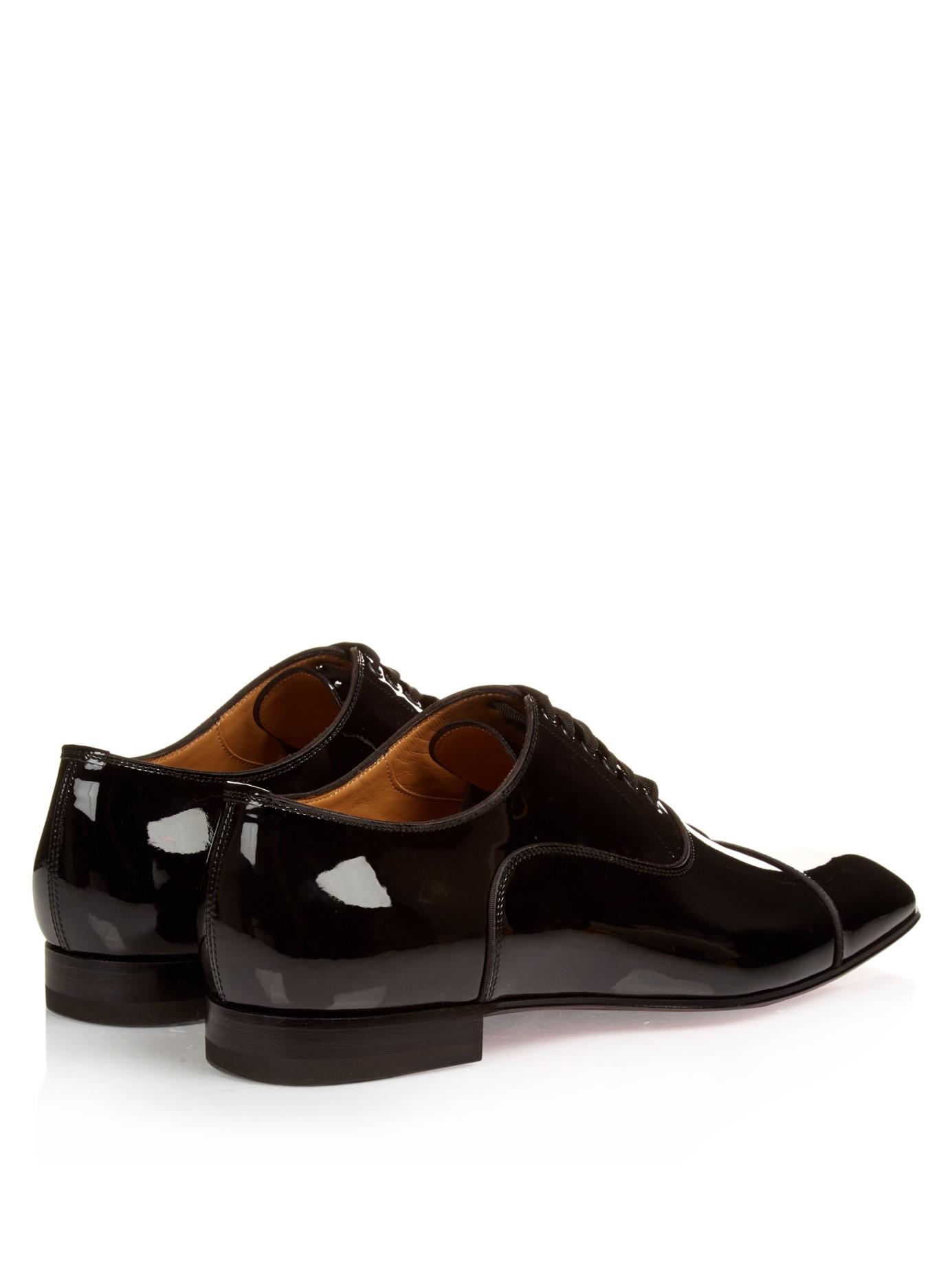 christian louboutin lace square-toe slippers