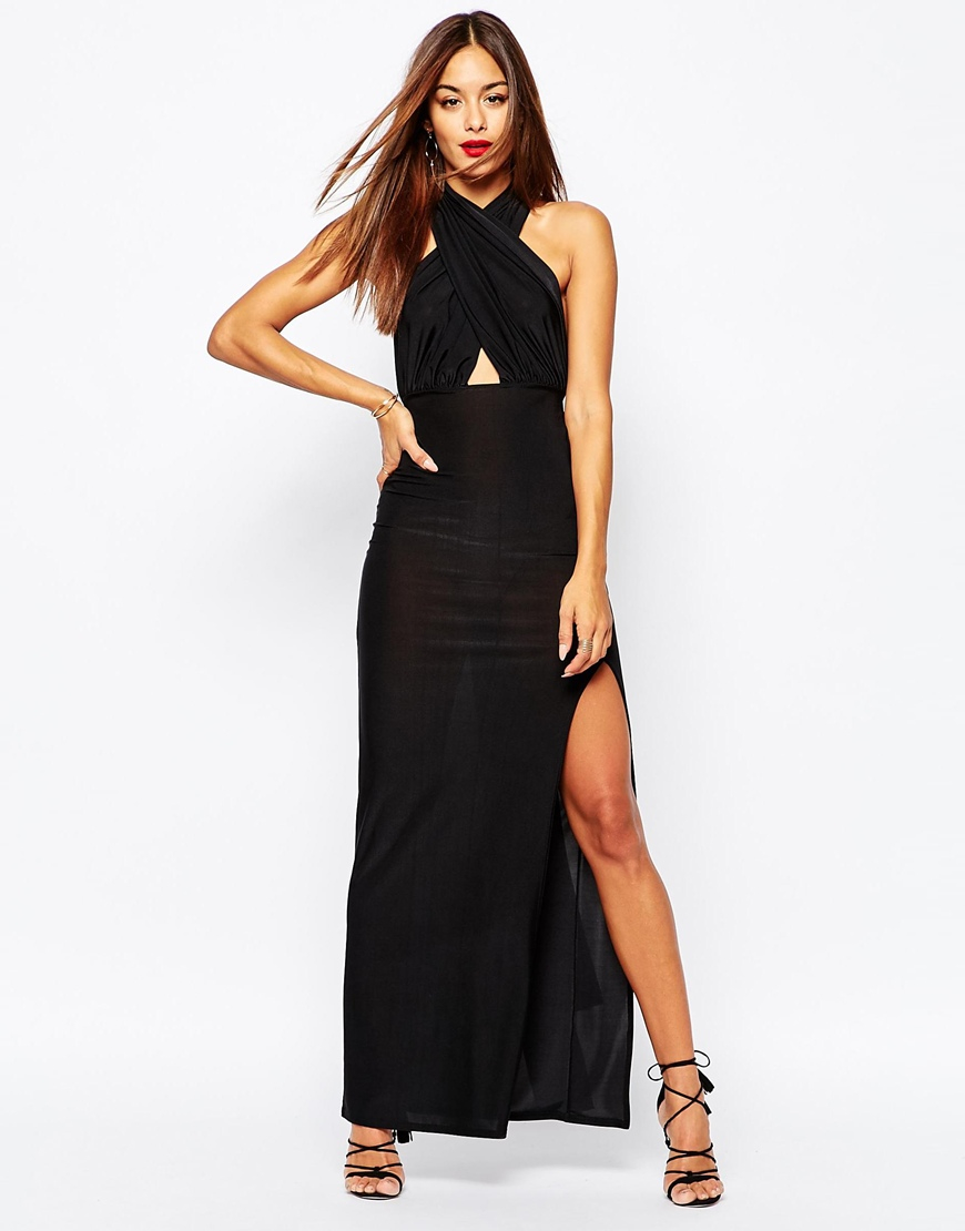 Lyst Missguided Multiway Maxi Dress In Black
