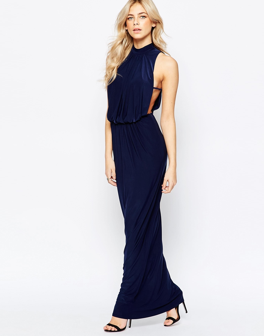 Navy Blue V Neck High Waist Maxi Dress on sale only US$ now, buy cheap Navy Blue V Neck High Waist Maxi Dress at eskortlarankara.ga Search. Pls input valid keywords! Contact Us. FAQs. Pre-sales Our customer service is online now. If you have any questions before making a purchase, chat with our online sales to get more information.