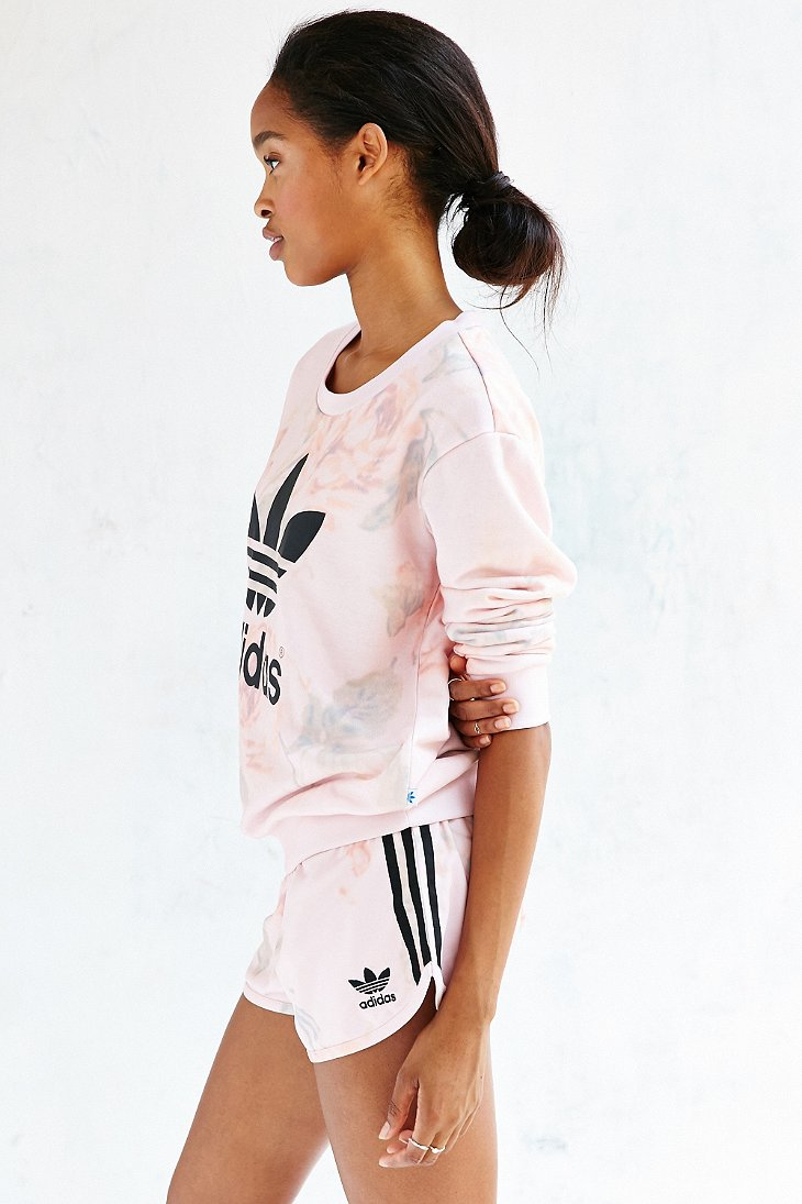 adidas pastel rose jumper