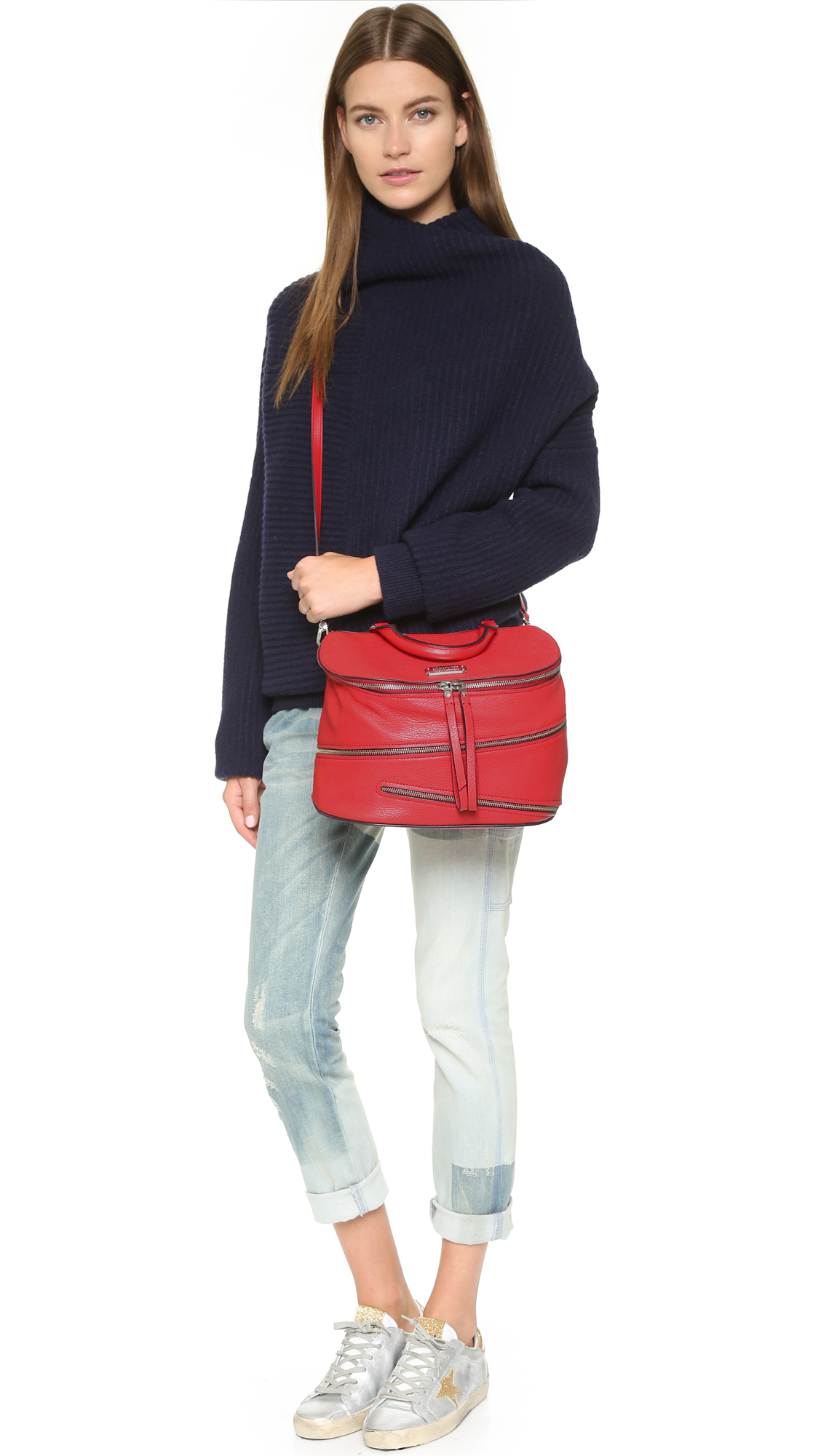 Marc By Jacobs Laukku : Marc by jacobs serpentine satchel in red lyst