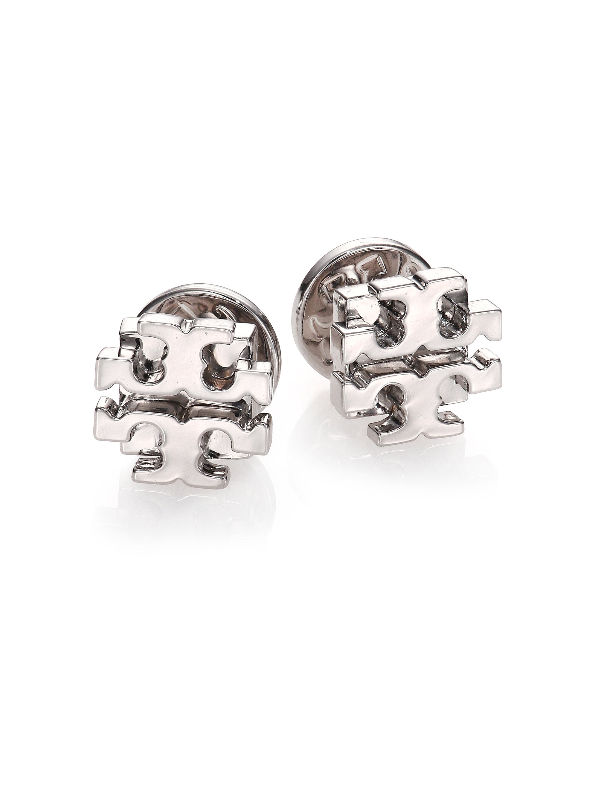 1011dbaf0 Tory Burch Small T Logo Stud Earrings - The Best Produck Of Earring