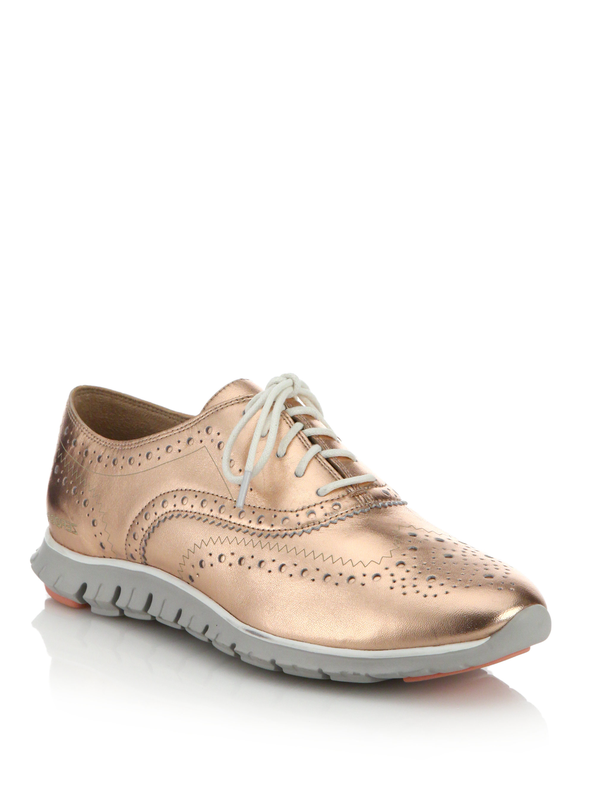 50 Off Cole Haan Womens Zerogrand Wingtip Oxford Ii Sneaker Shoes