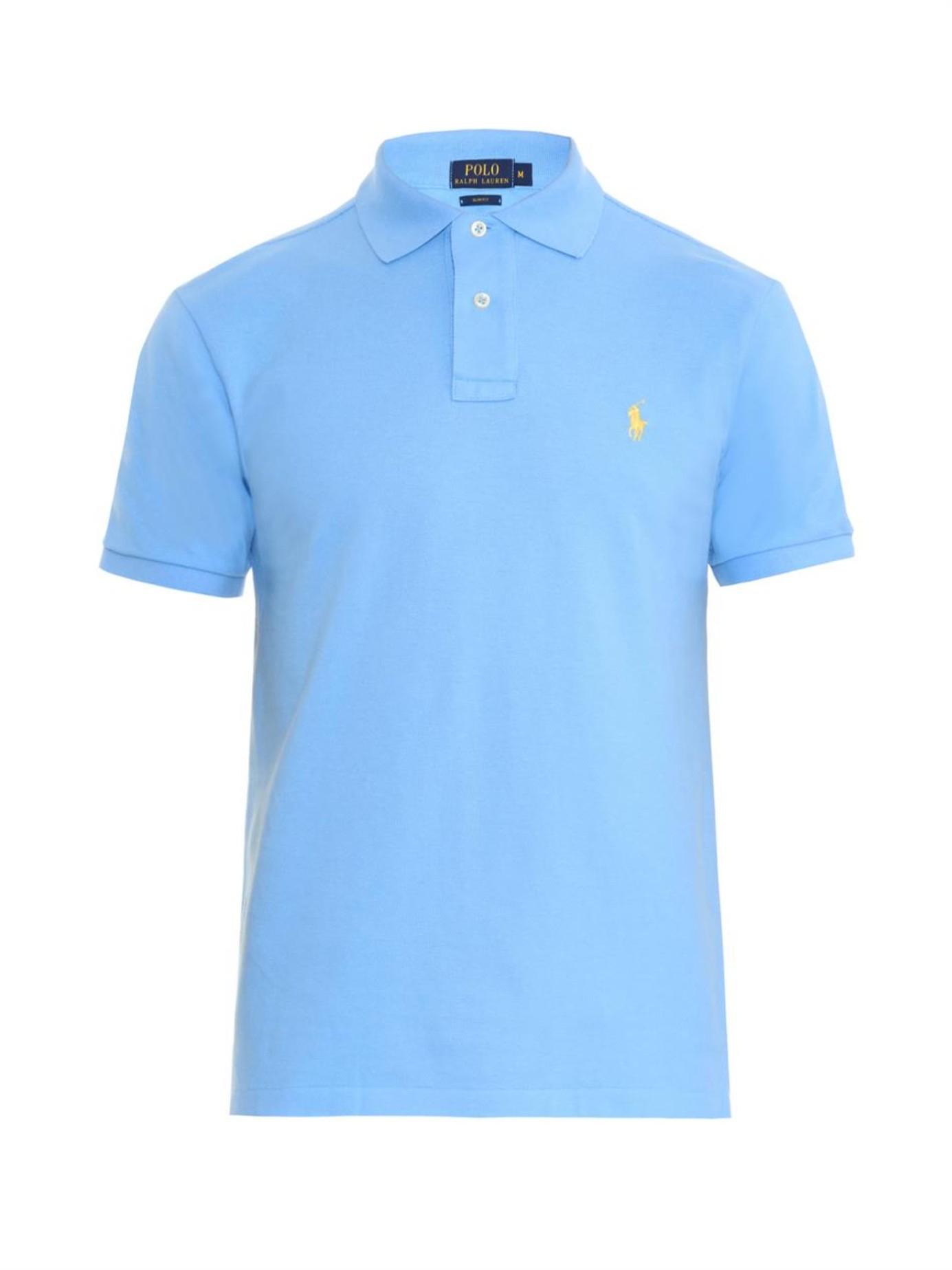 Lyst - Polo Ralph Lauren Cobalt Blue Polo Shirt in Blue