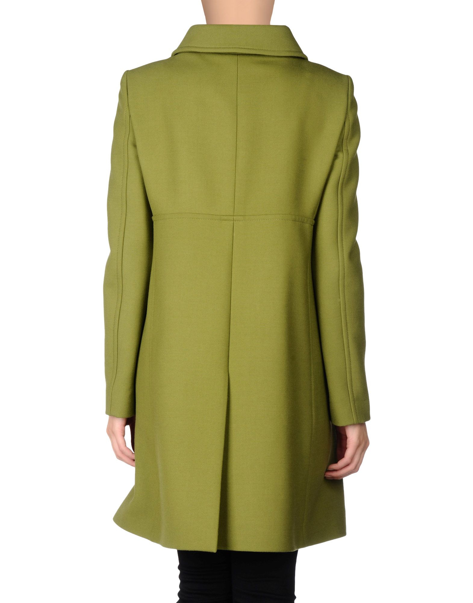638bbbad687 Lyst - Philosophy di Alberta Ferretti Coat in Green