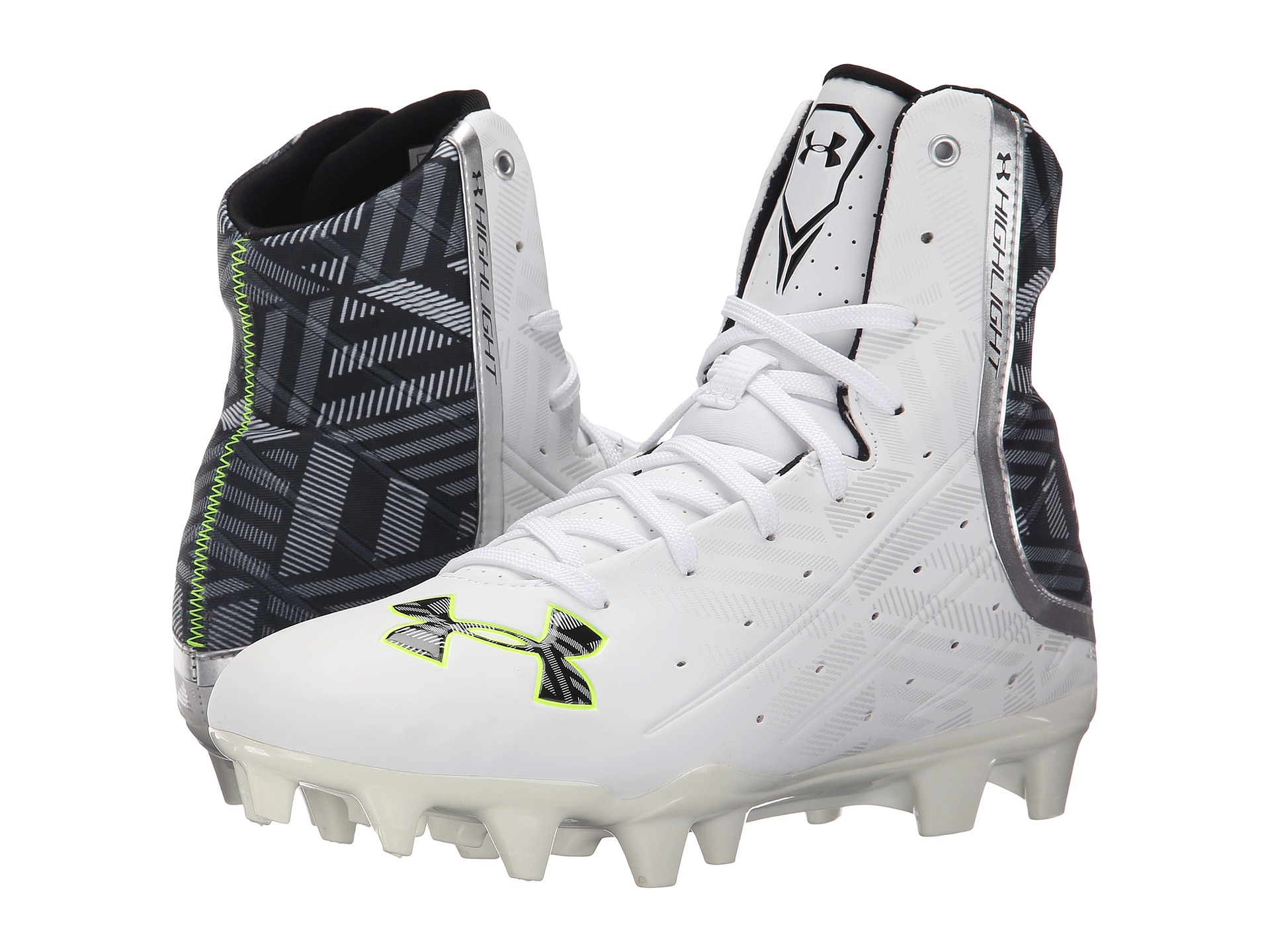 51db2341e Under Armour Ua Lax Highlight Ii Mc in Yellow for Men - Lyst