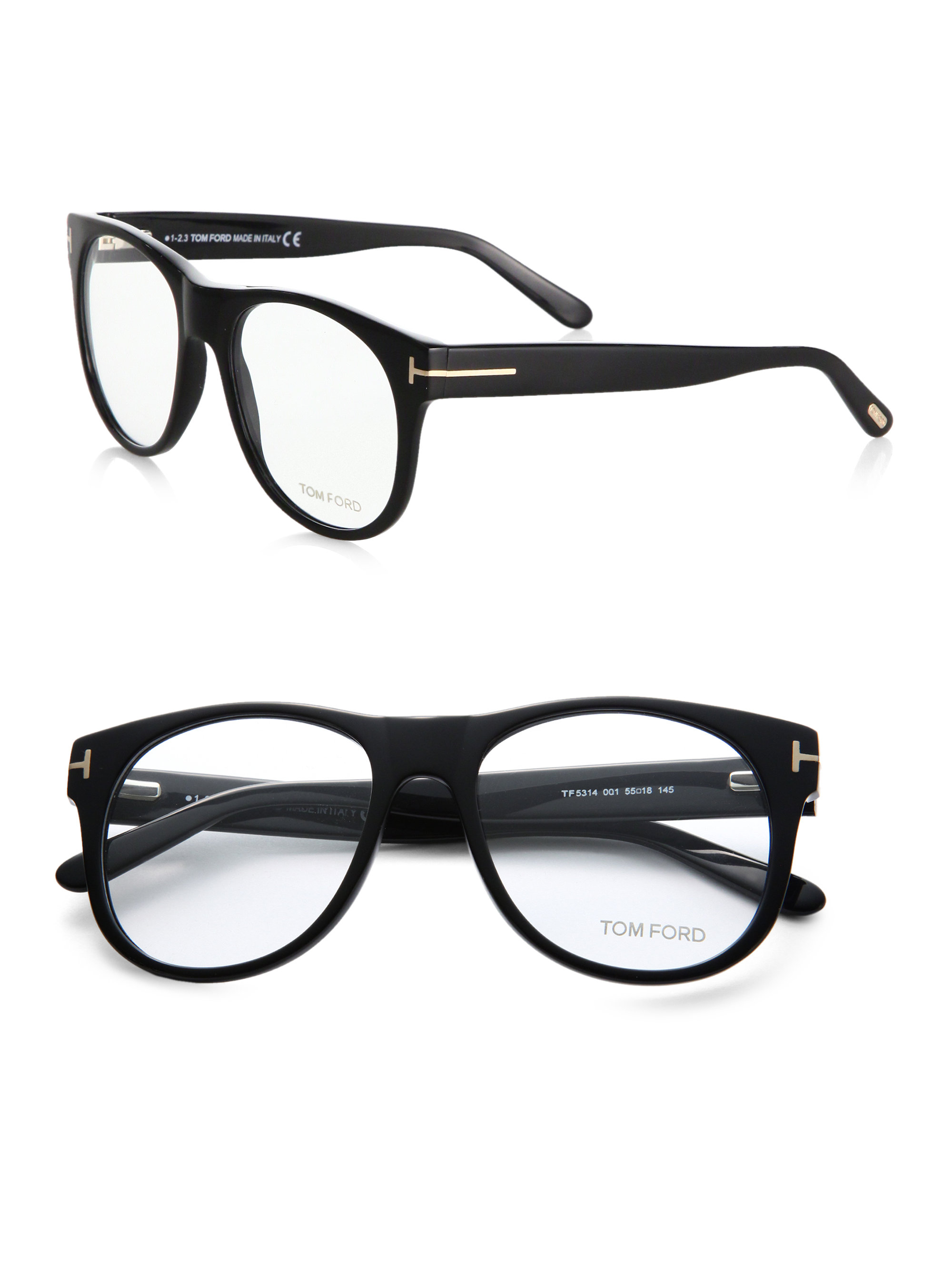 tom ford oversized optical glasses in black lyst. Black Bedroom Furniture Sets. Home Design Ideas