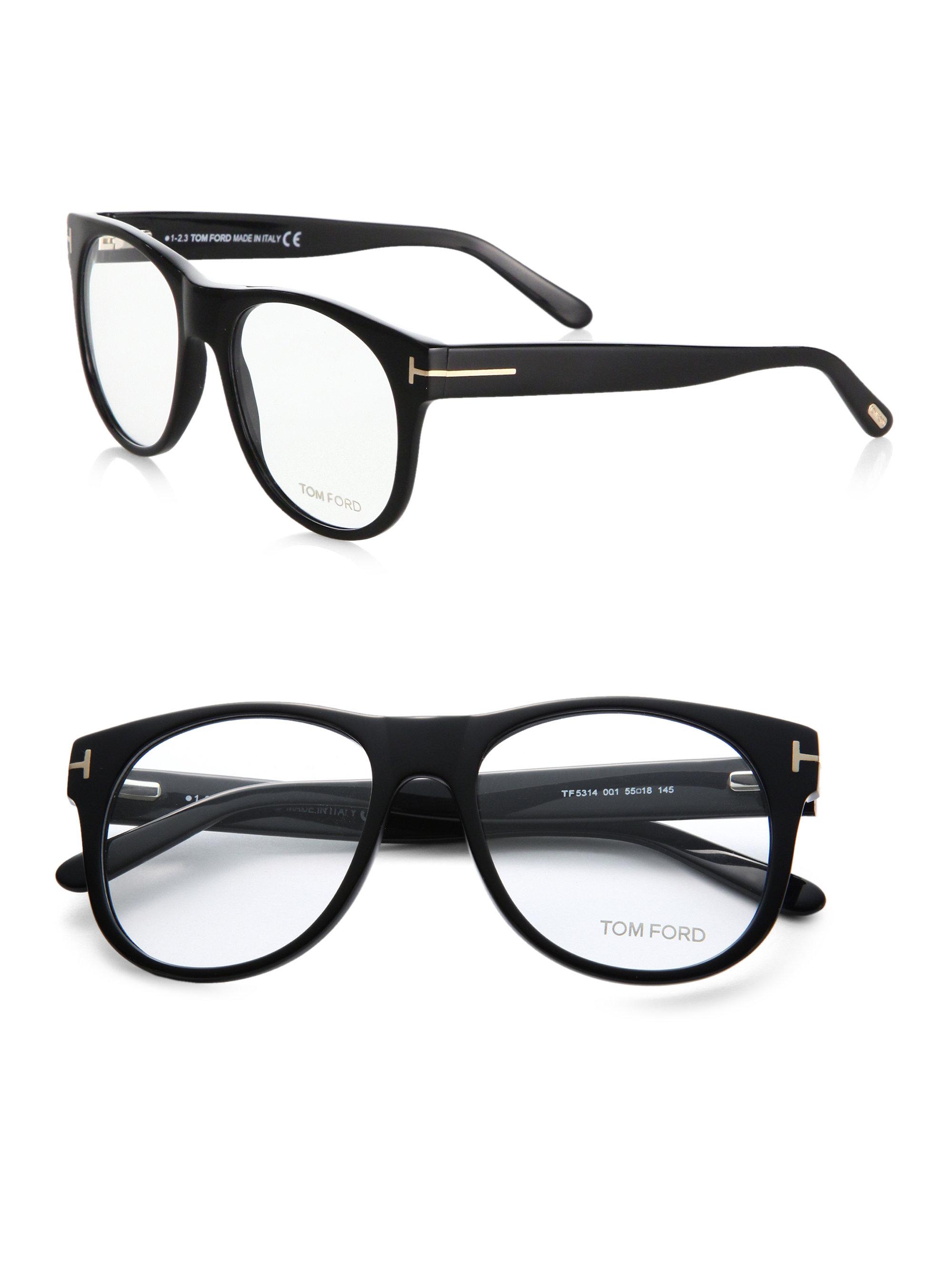 tom ford oversized optical glasses in black lyst. Black Bedroom Furniture Sets. Home Design Ideas
