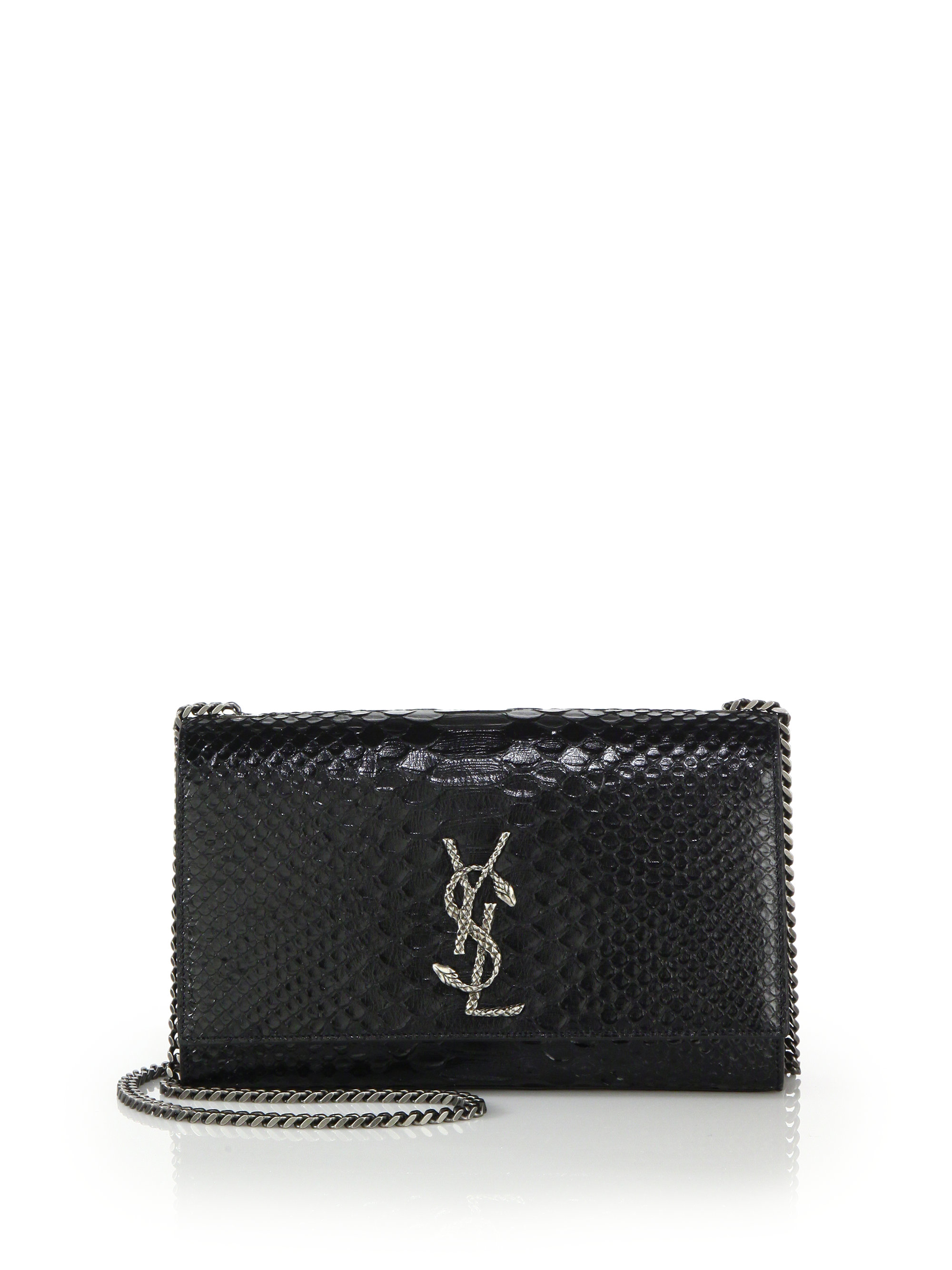 Classic Medium Kate Monogram Saint Laurent Satchel In