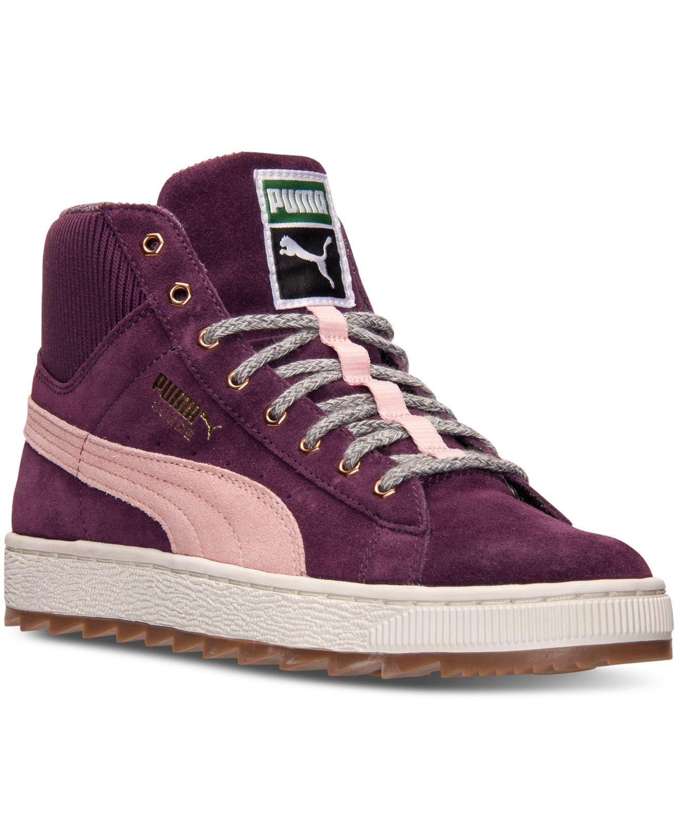 Lyst - PUMA Women s Suede Winterized Rugged Casual Sneakers From ... ec09df28c
