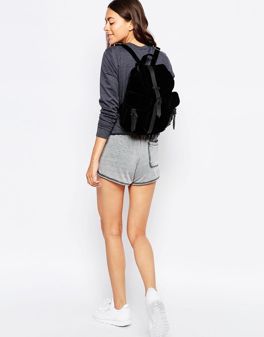 Herschel supply co. Dawson Micro Velvet Backpack With ...