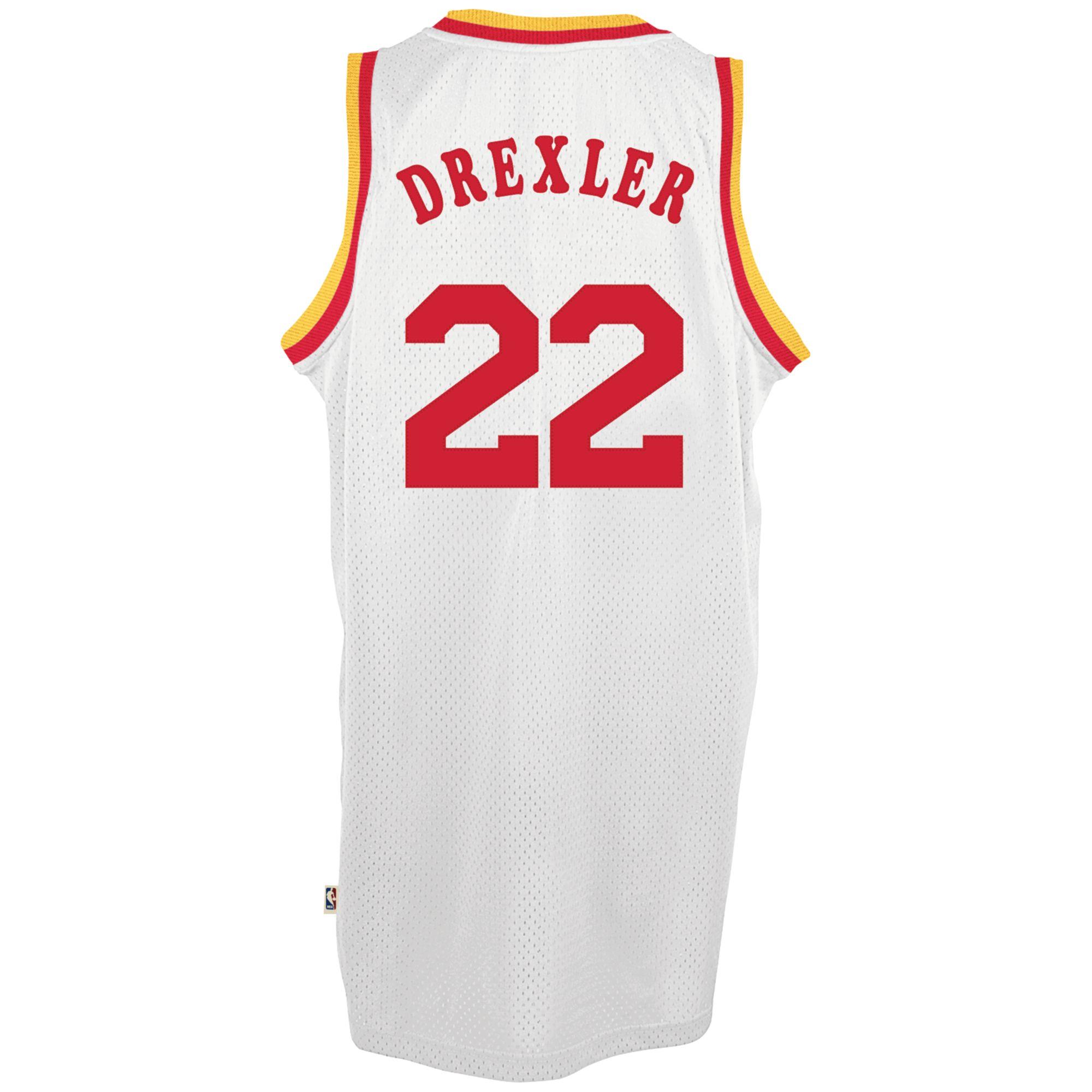 Houston Rockets Jersey Uk: Adidas Mens Clyde Drexler Houston Rockets Retired Player