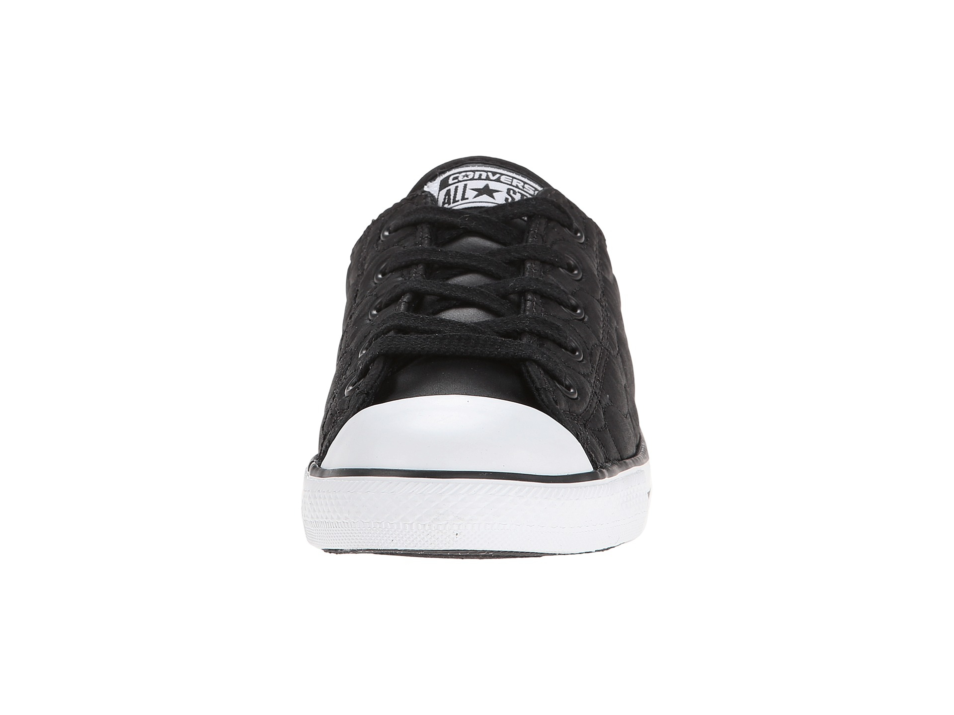 86864ab6325a Lyst - Converse Chuck Taylor® All Star® Dainty Quilted Nylon Ox in Black
