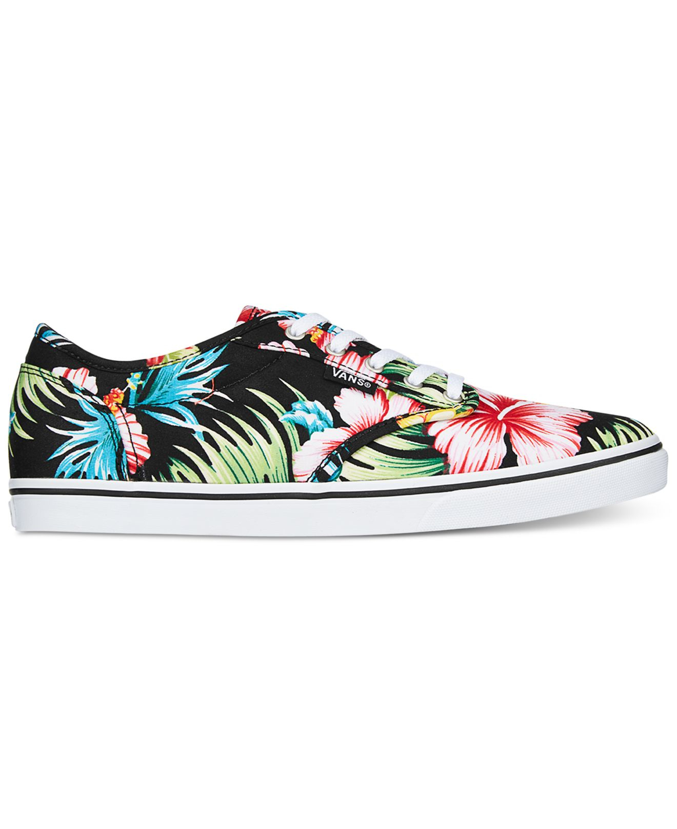 vans atwood shoes floral