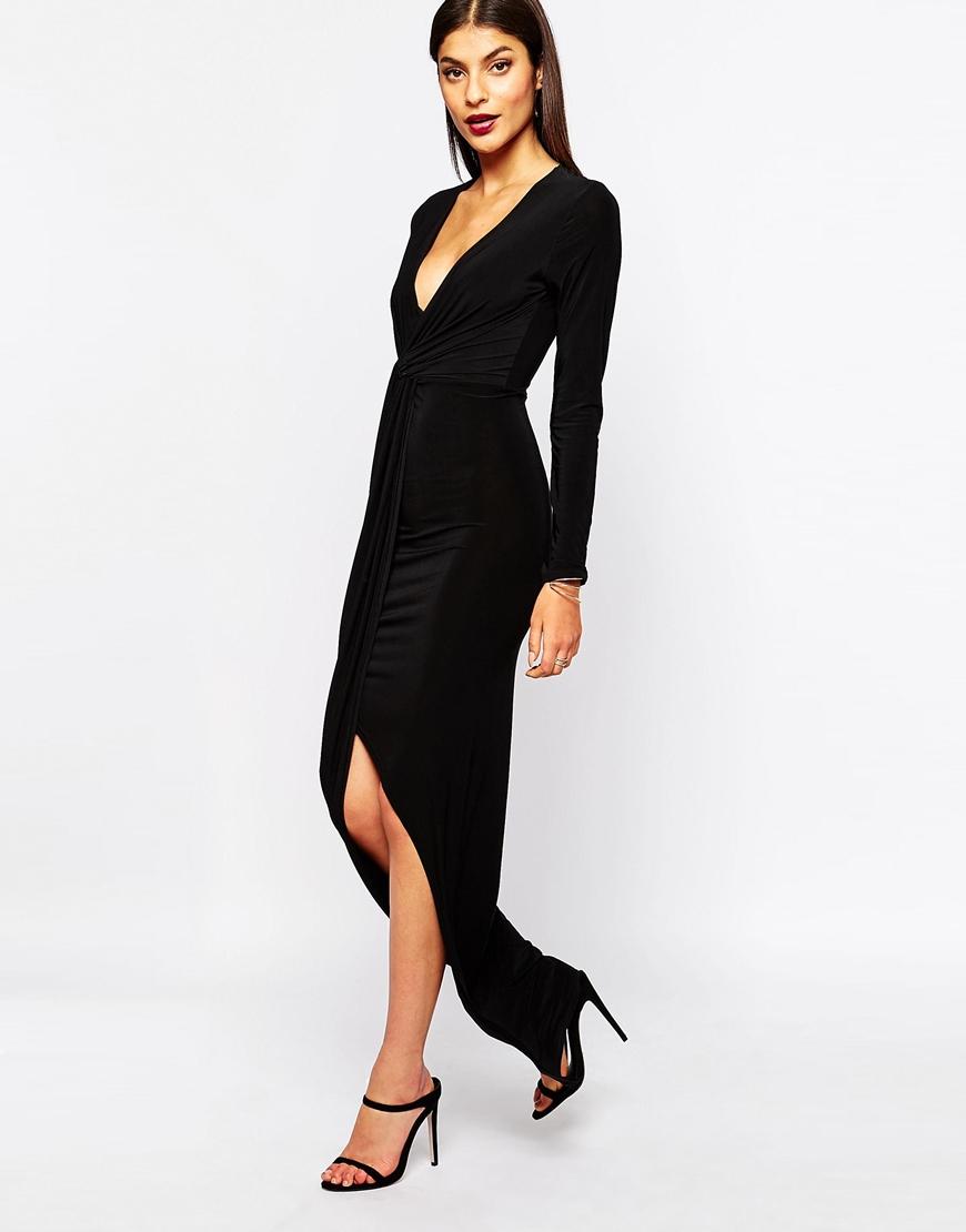 Club L Womens **Slinky Knot Maxi Dress by - Sale Online Shopping RptboYU11