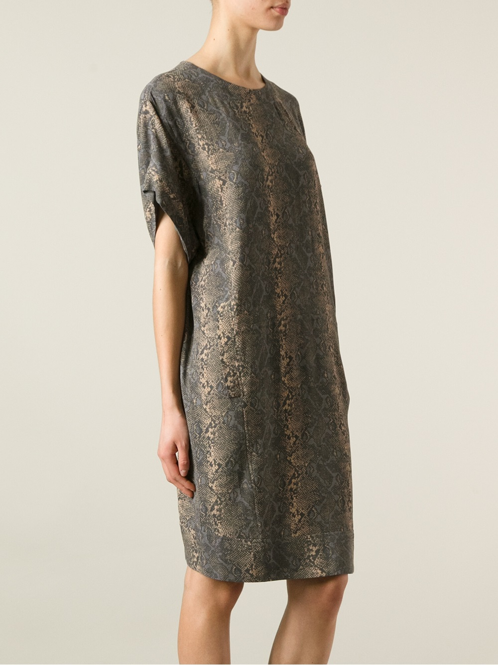 lyst day birger et mikkelsen sneak dress in metallic. Black Bedroom Furniture Sets. Home Design Ideas
