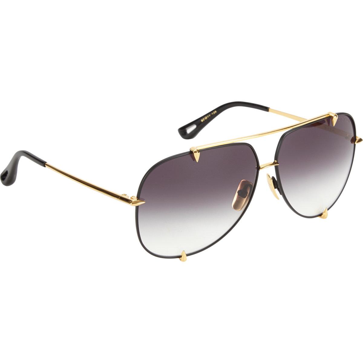 4b0b5ec19 DITA Talon Aviator Sunglasses in Metallic - Lyst