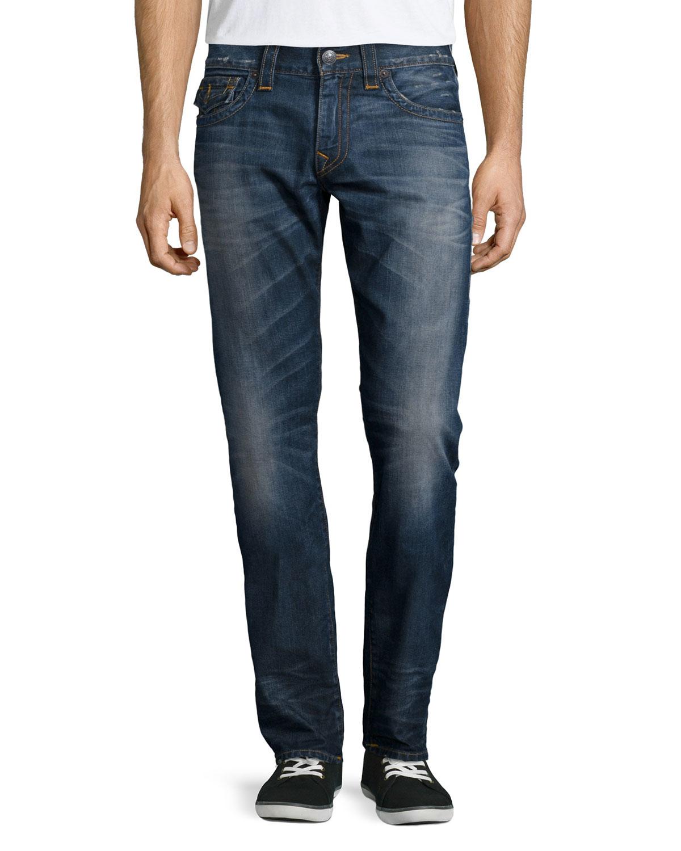 true religion geno urban dweller denim jeans in blue for. Black Bedroom Furniture Sets. Home Design Ideas