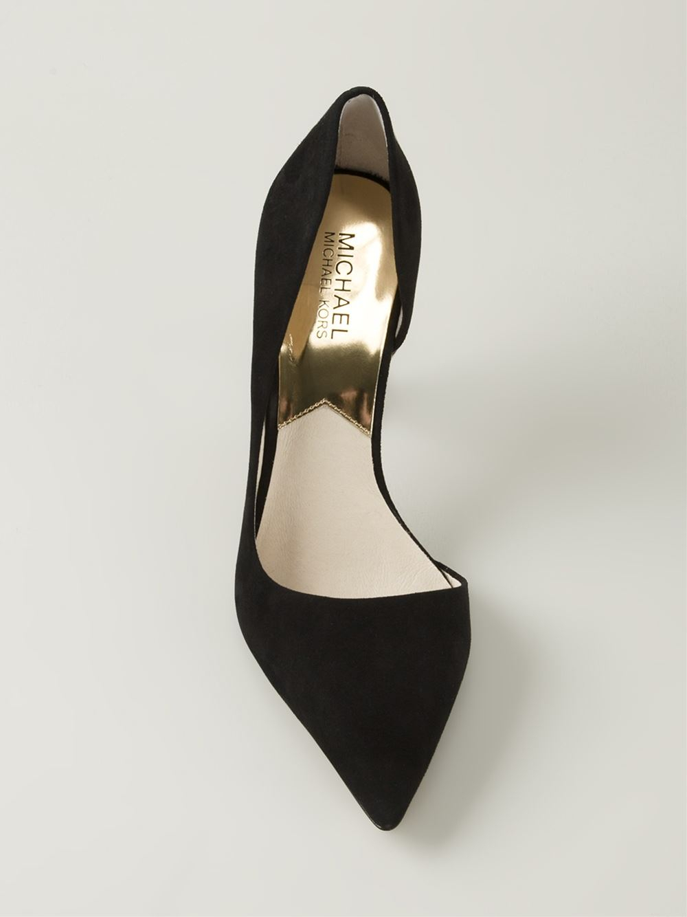 a4ca3fc7699 Lyst - MICHAEL Michael Kors Pointed Toe Pumps in Black