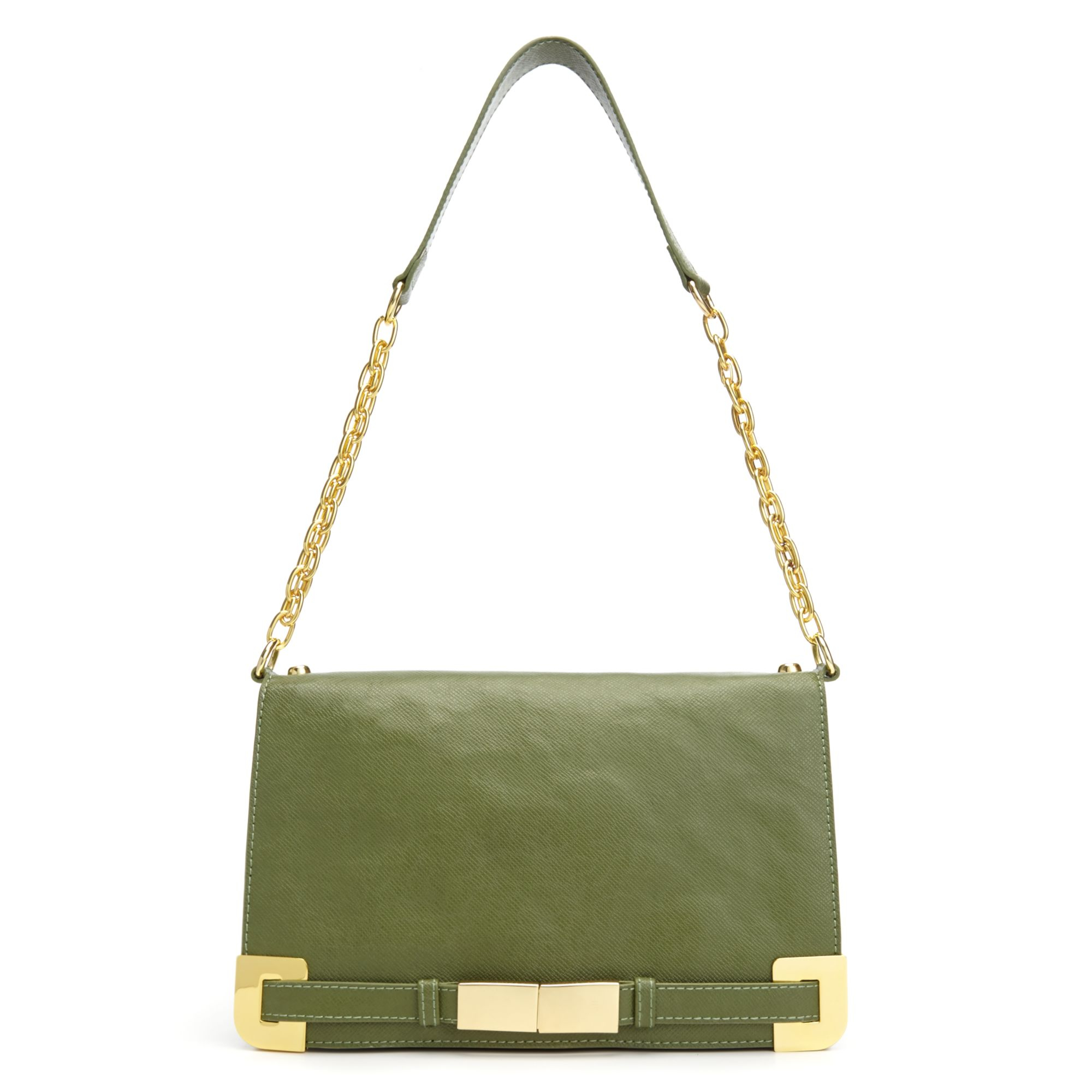 Ivanka Trump Onyx Shoulder Bag in Green (Olive) | Lyst